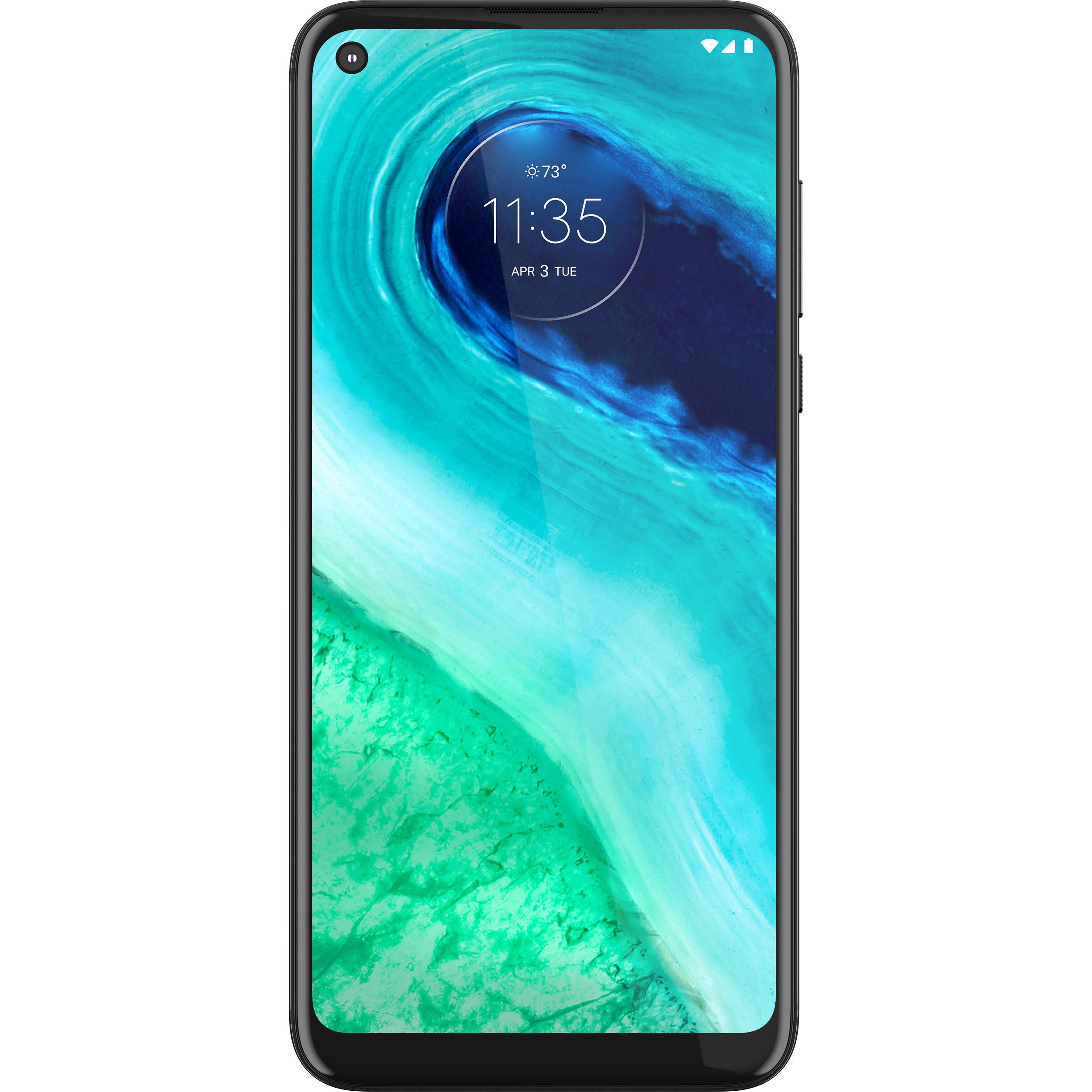 Moto g fast 32GB Smartphone (Unlocked, Pearl White) PAHN0000US