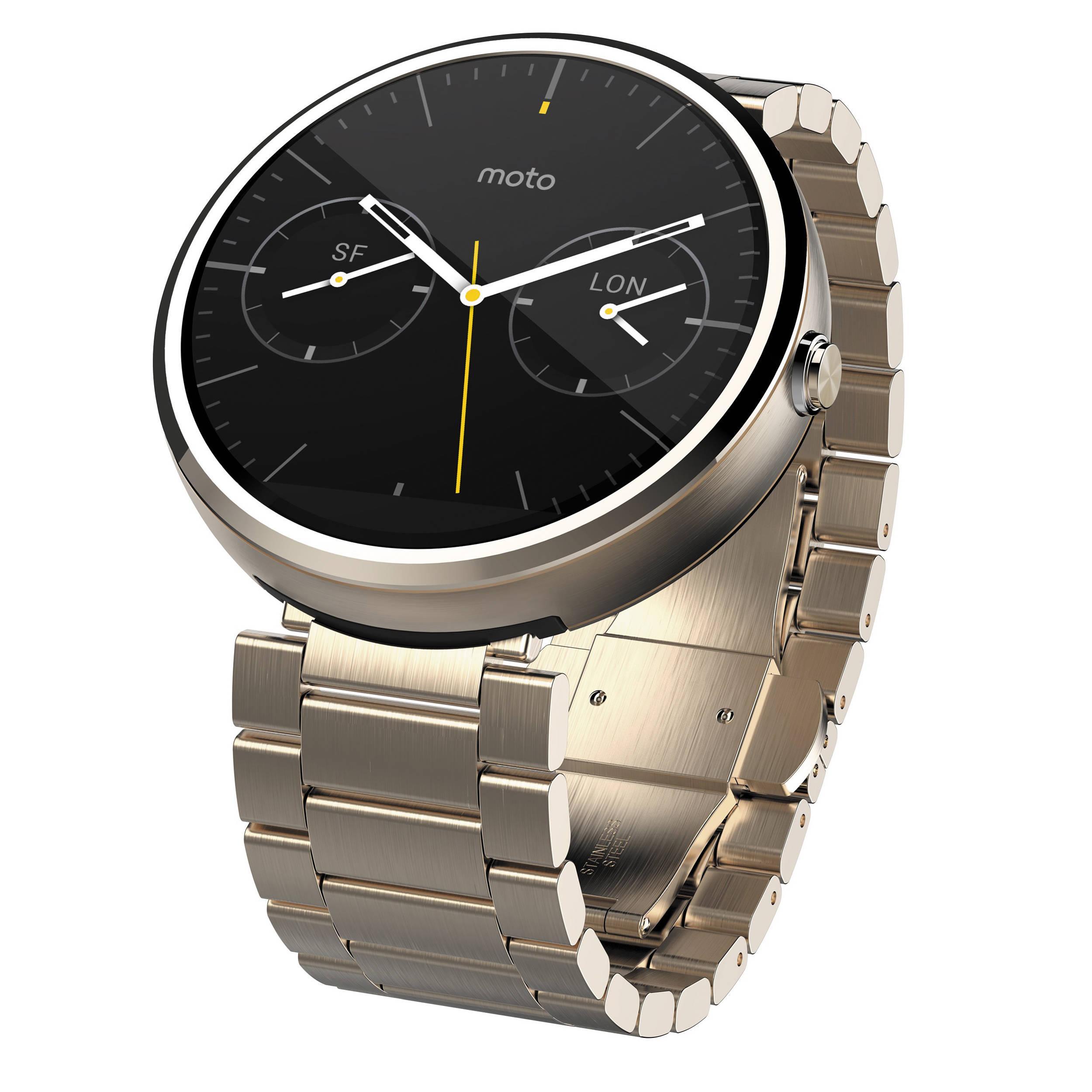 Motorola Moto 360 Smartwatch 00571NARTL B&H Photo Video