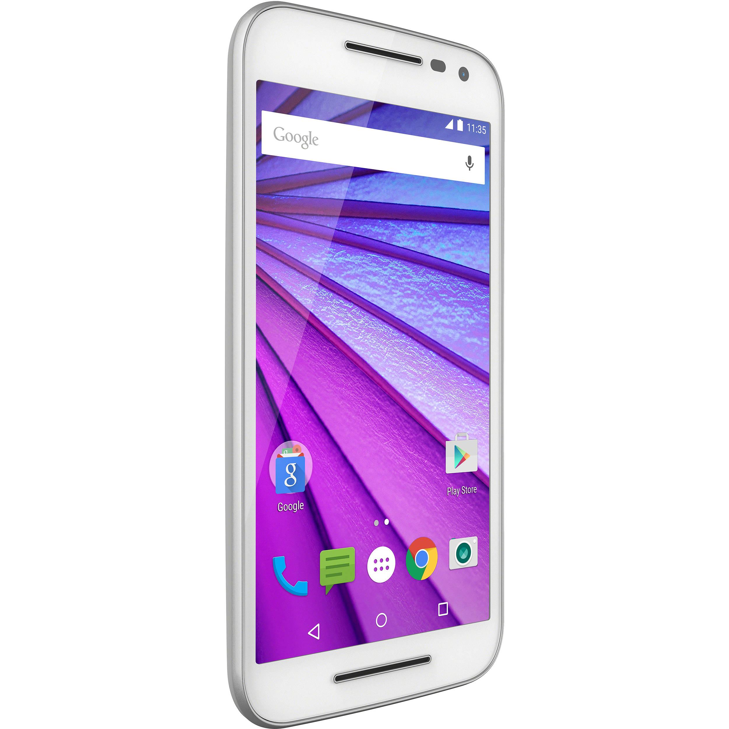 a62290c549e Motorola Moto G 8GB XT1540 Smartphone 3rd Gen (Unlocked, White)