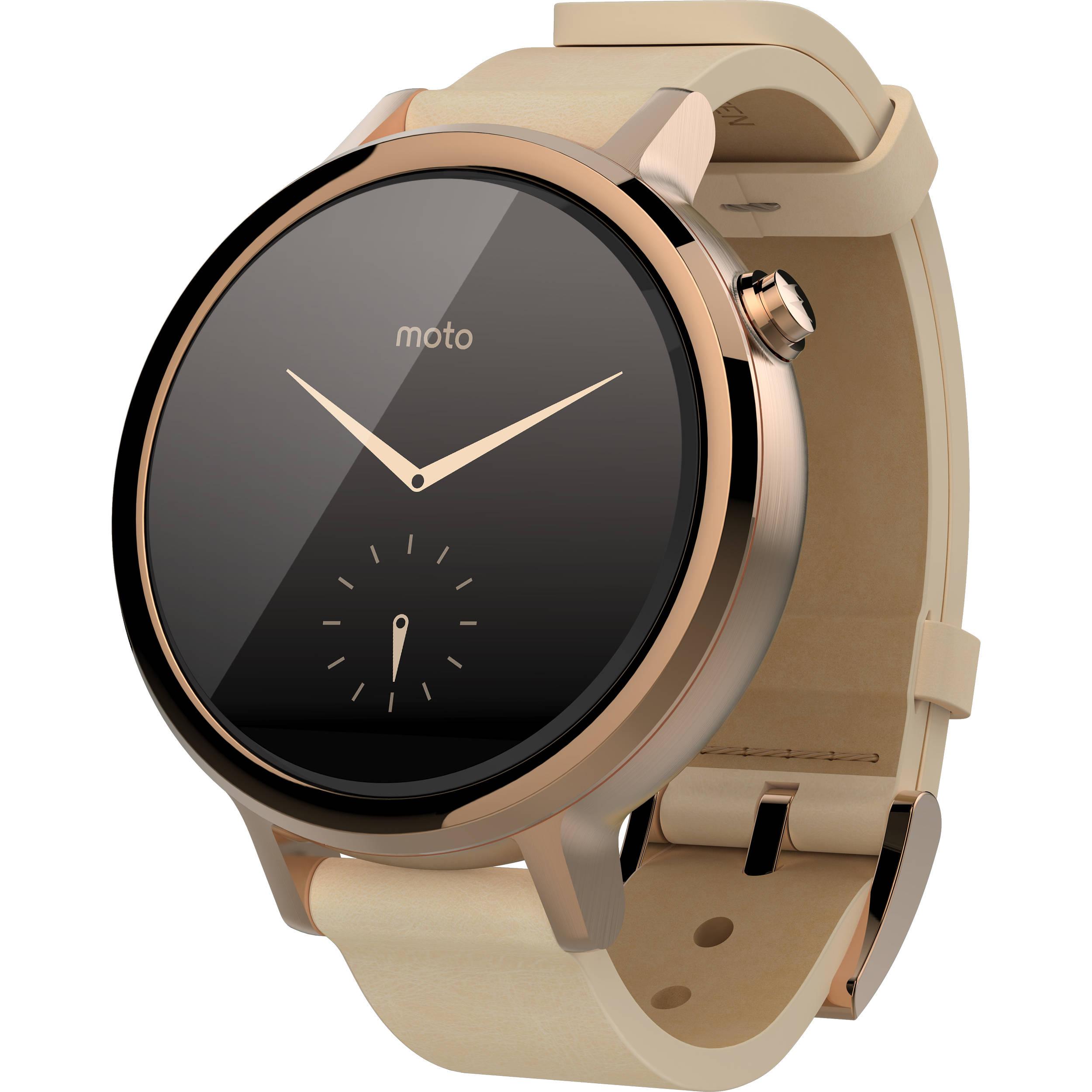 Motorola 2nd Gen Moto 360 42mm Women's Smartwatch ...