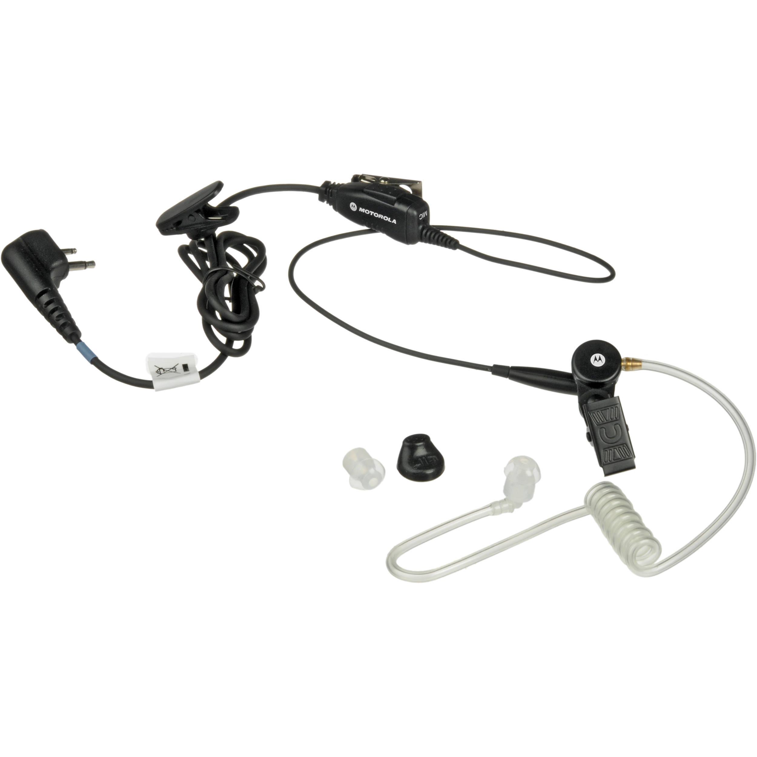 motorola hkln4601 single wire surveillance earpiece