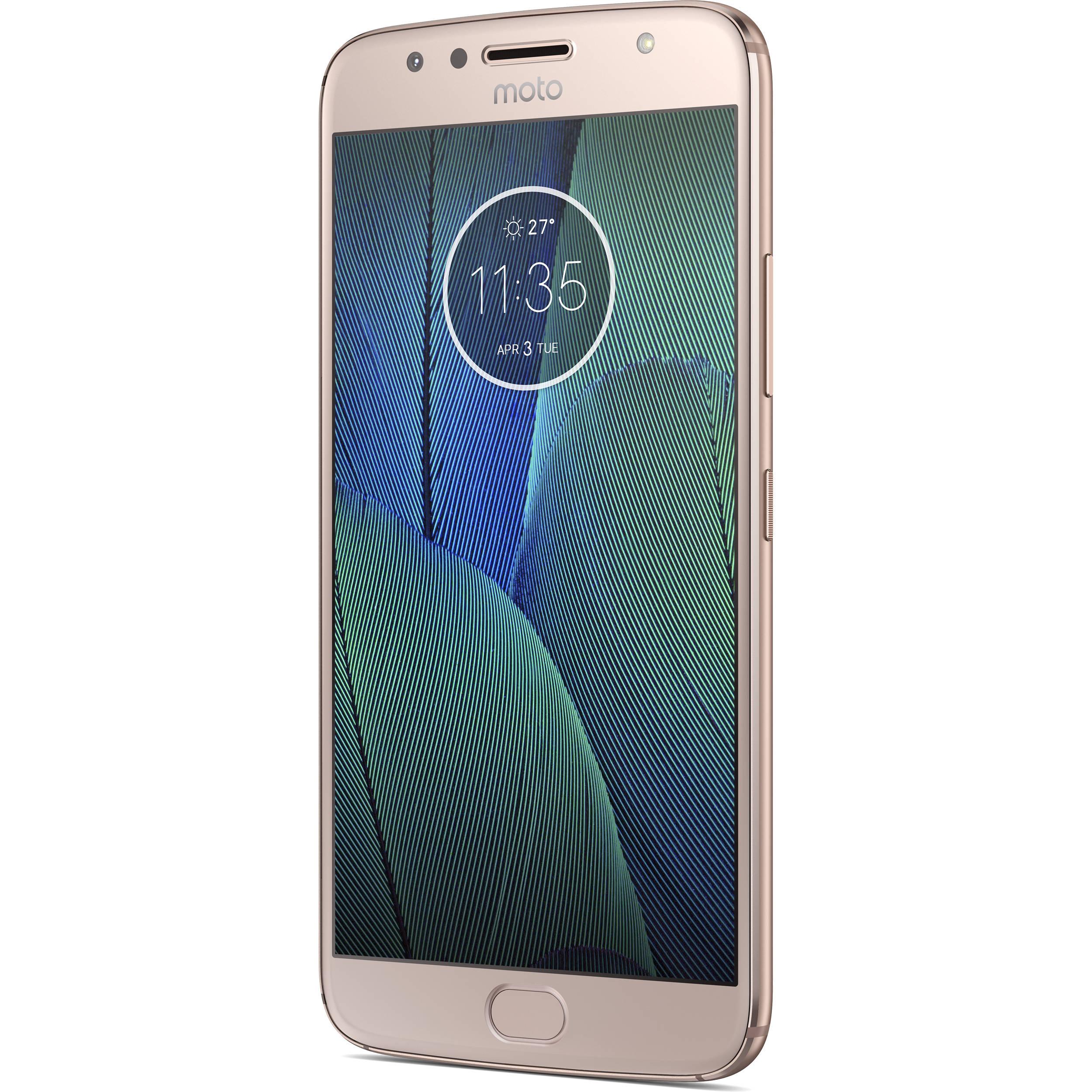 6f04e012f Moto G5S Plus XT1806 32GB Smartphone PA6R0001US B H Photo Video