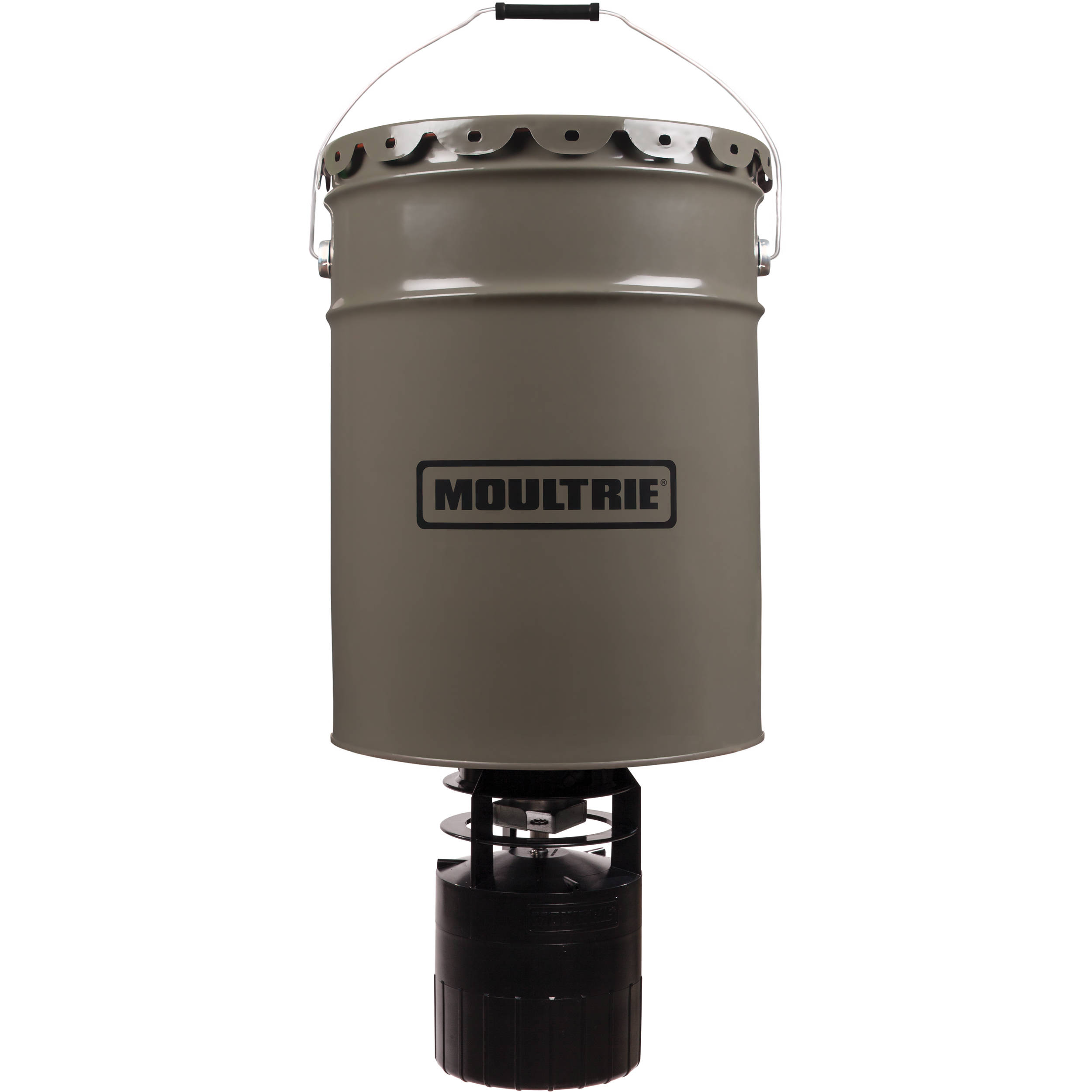 moultrie 6 5 gallon pro hunter hanging deer feeder mfg 13058 b h rh bhphotovideo com Texas Deer Feeders Deer Trough Feeders