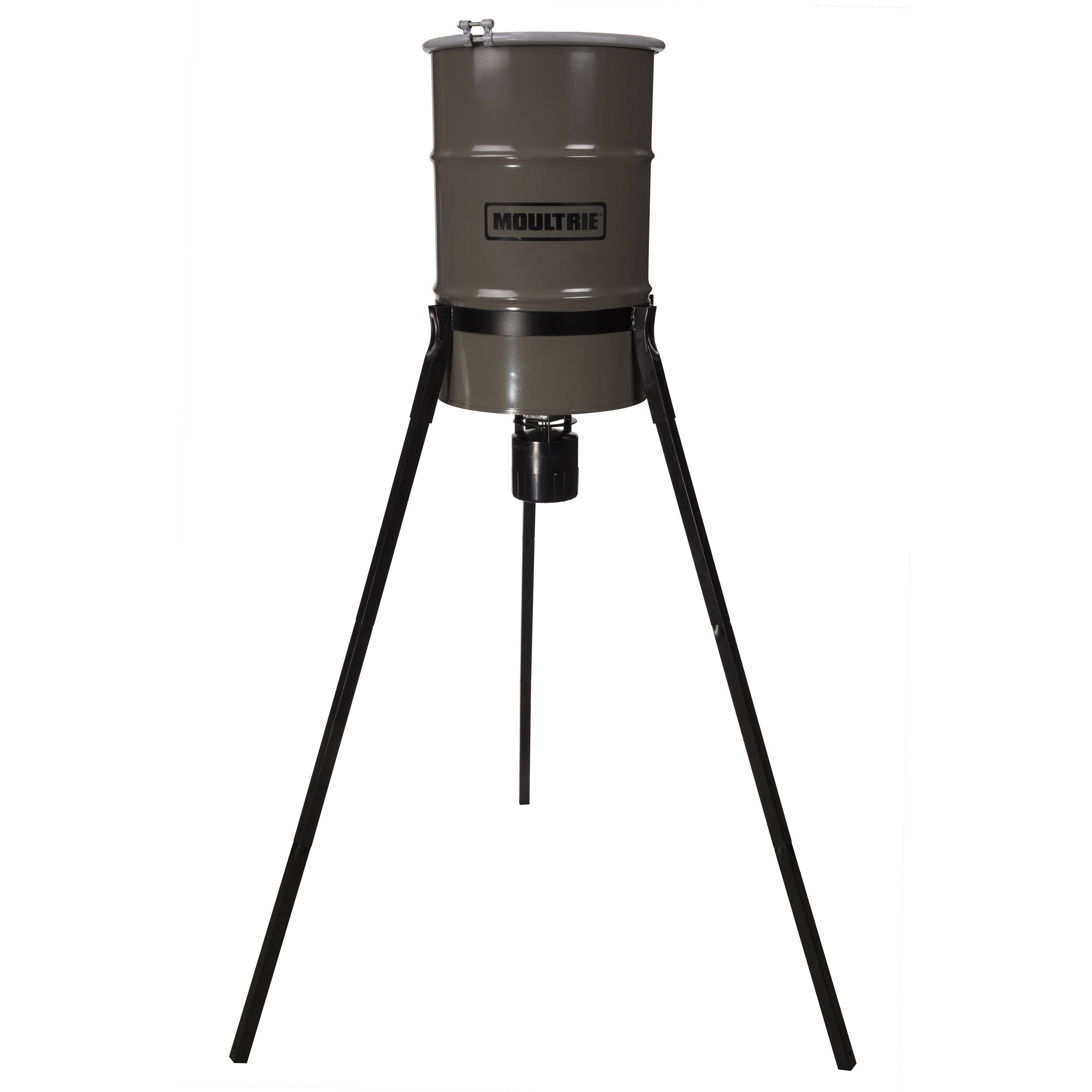 tripod deer youtube moultrie new feeder watch