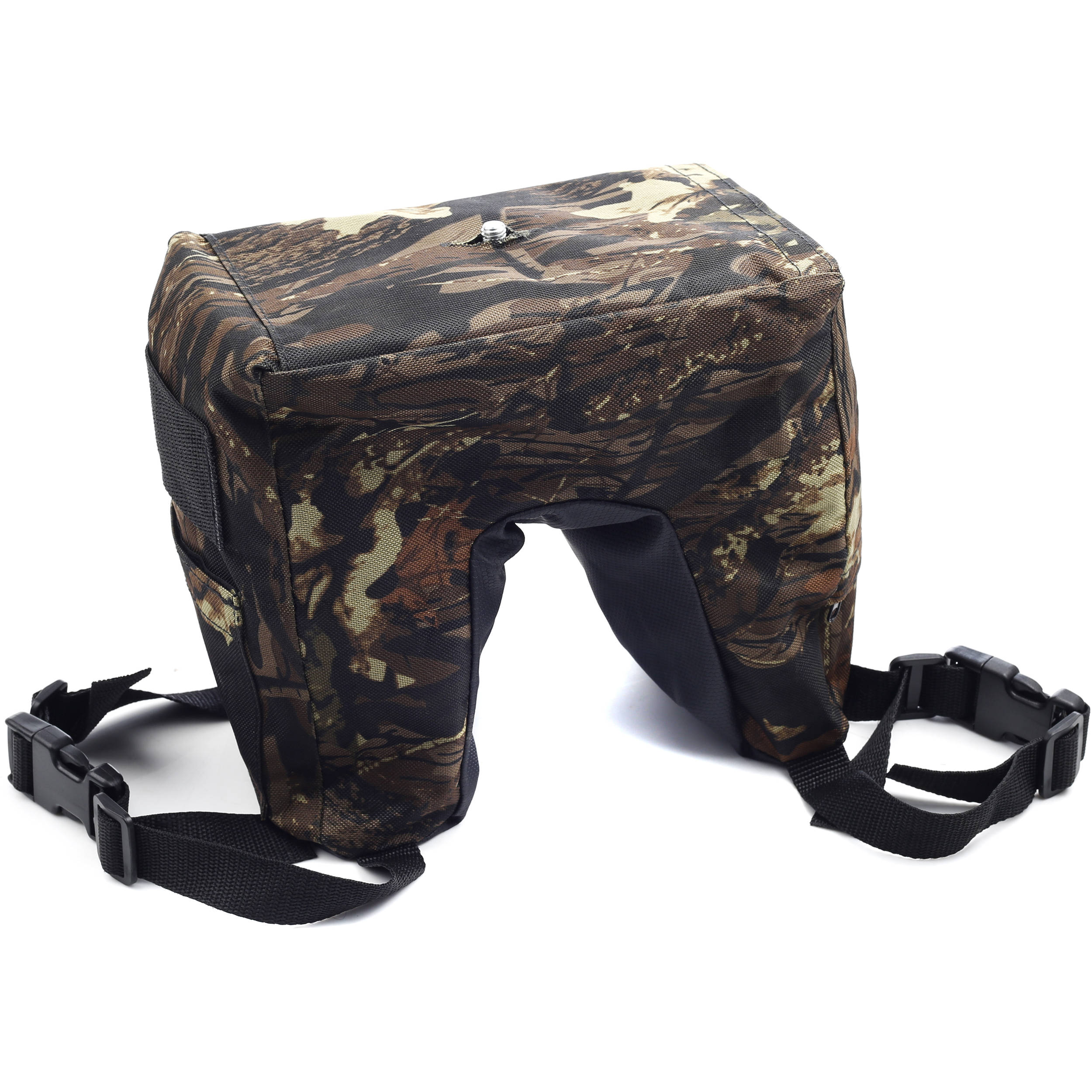Movo Photo THB04 Camouflage Camera Lens Bean Bag with Head THB04