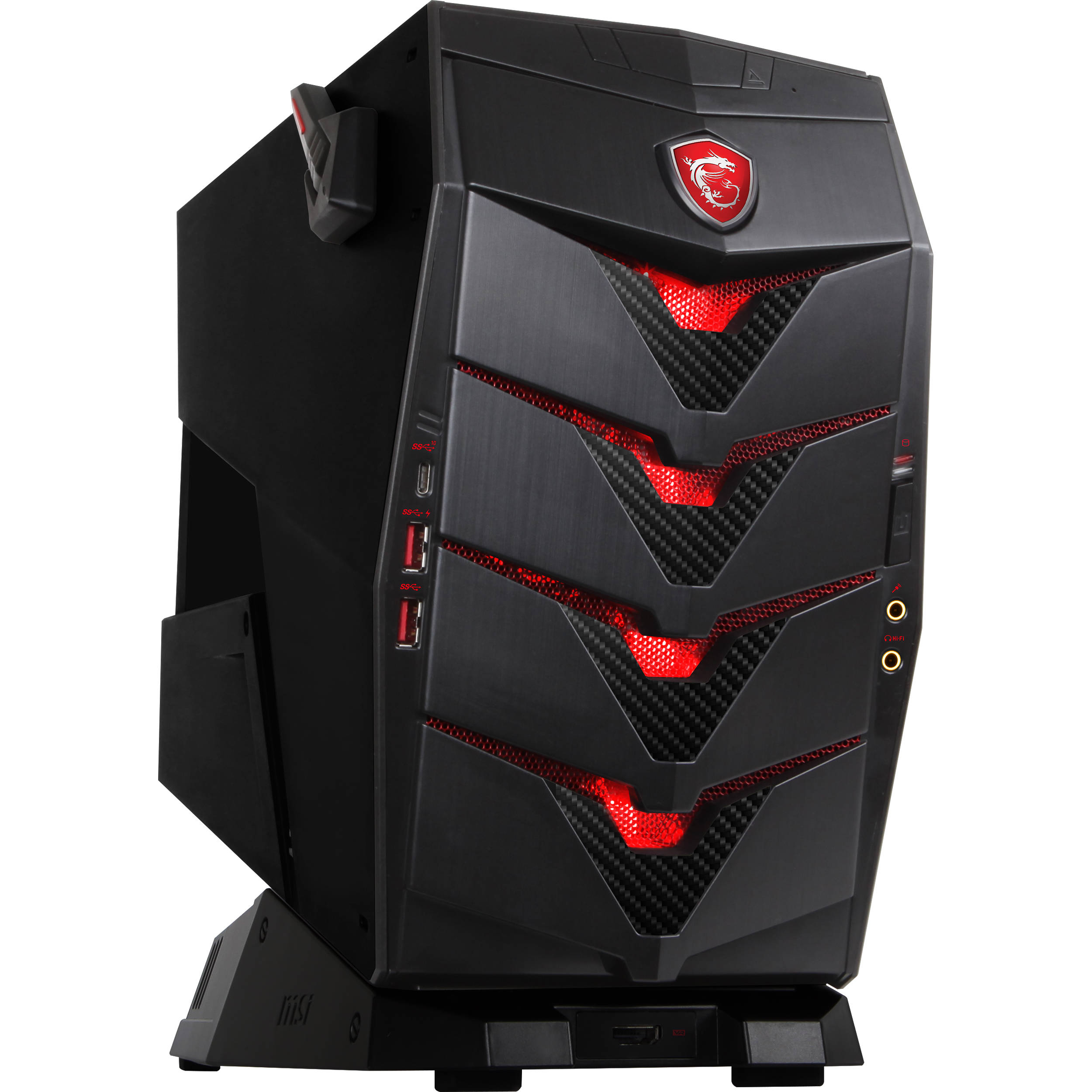 msi aegis x3 gaming desktop computer aegis x3 vr7re 002us b h. Black Bedroom Furniture Sets. Home Design Ideas