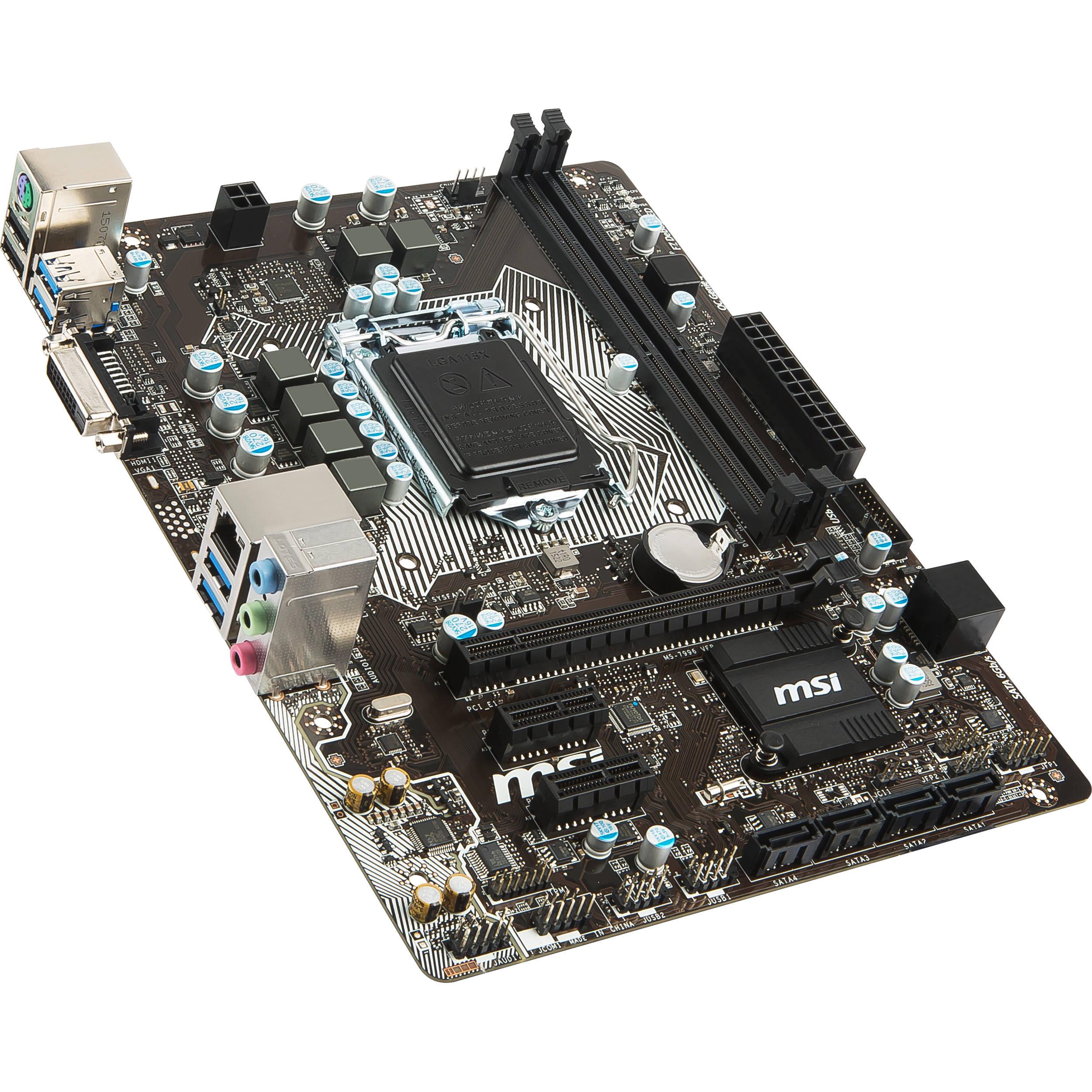 MSI B150M PRO-D 64 Bit
