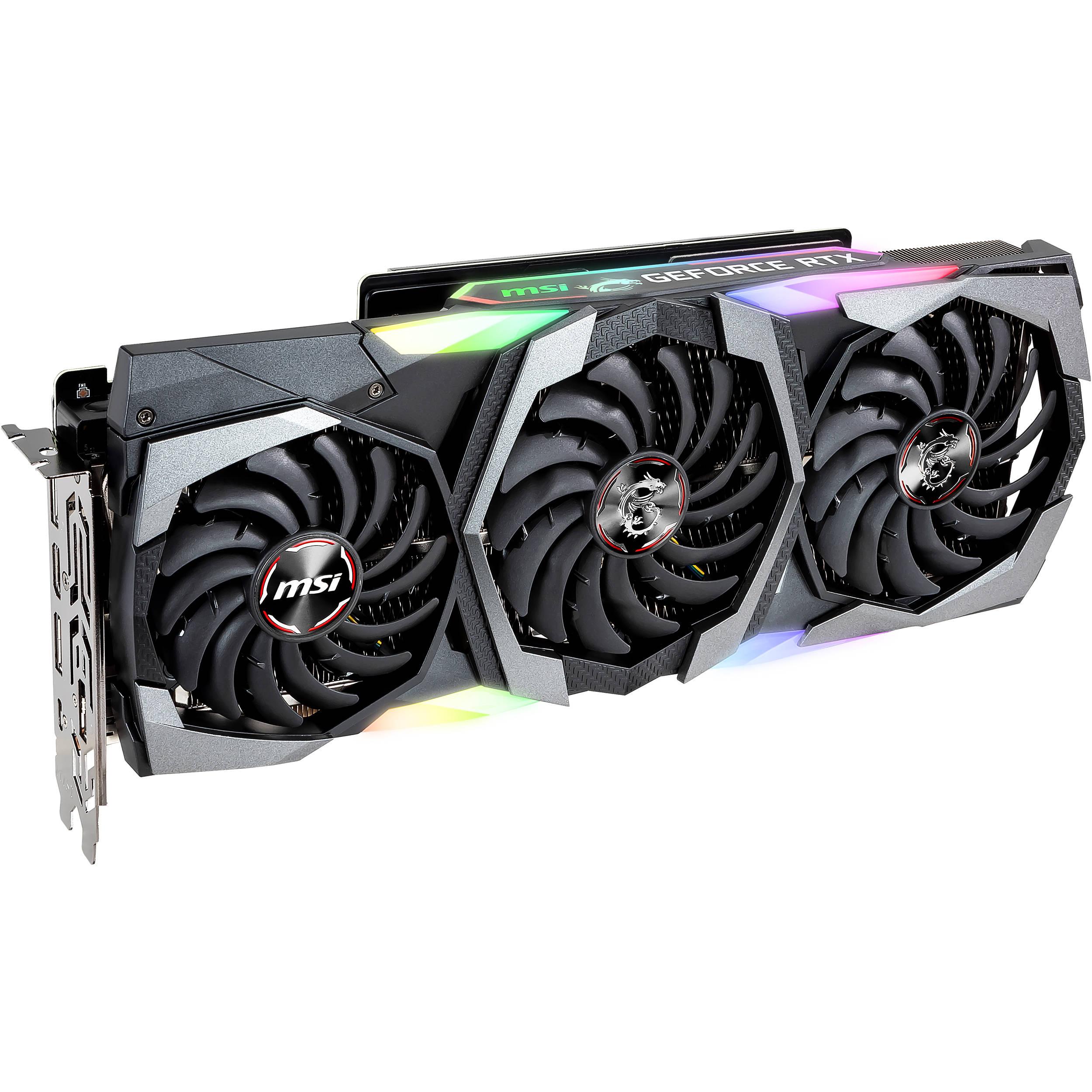 MSI GeForce RTX 2080 SEA HAWK X Graphics Card
