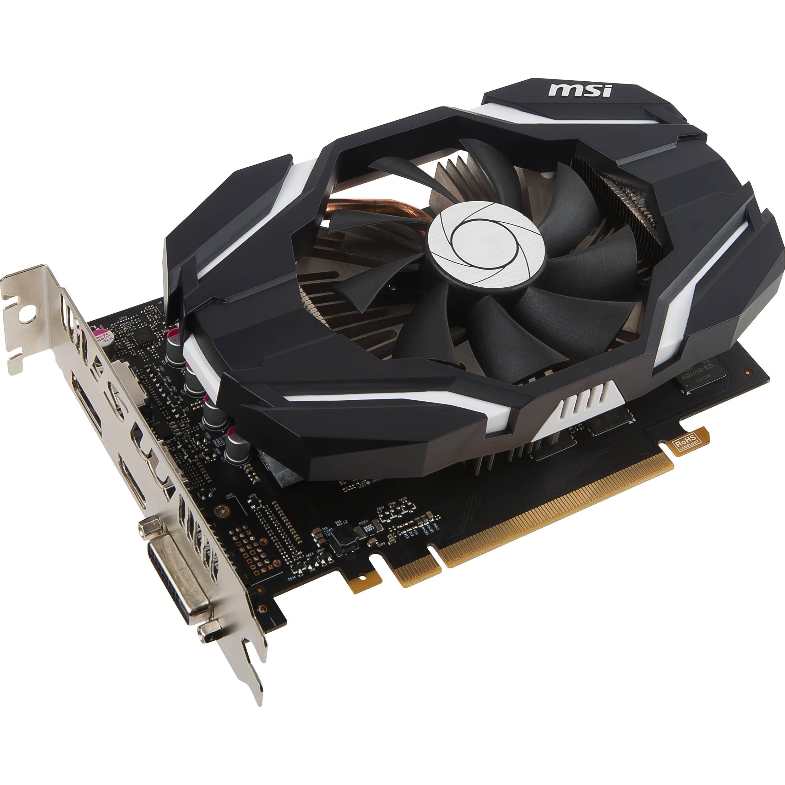 MSI GeForce GTX 1060 6G OCV1 Graphics Card