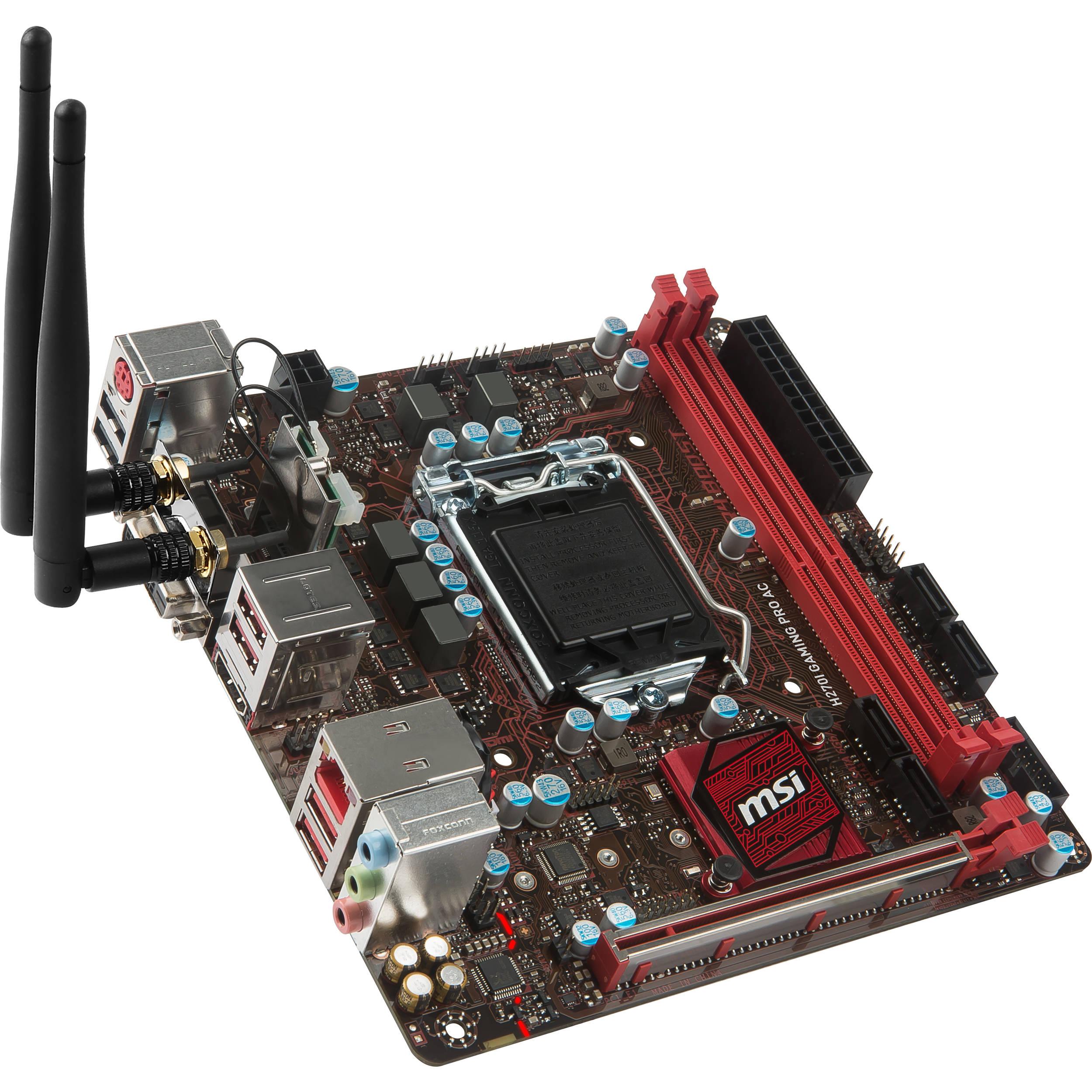 MSI H270I Gaming Pro AC LGA1151 Mini ITX H270I GAMING PRO AC B&H