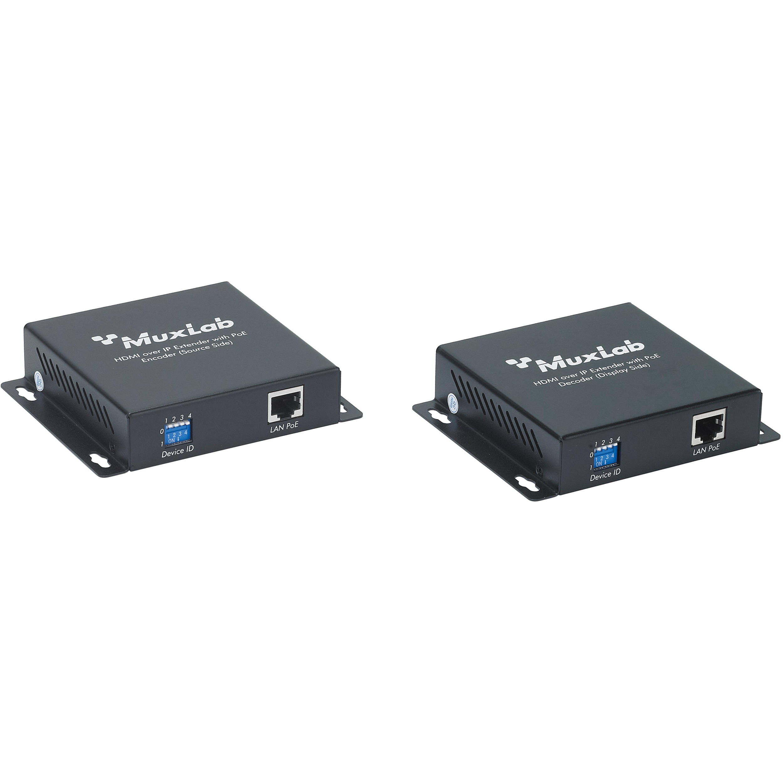 muxlab hdmi over ip extender kit with poe 500752 b h photo video rh bhphotovideo com