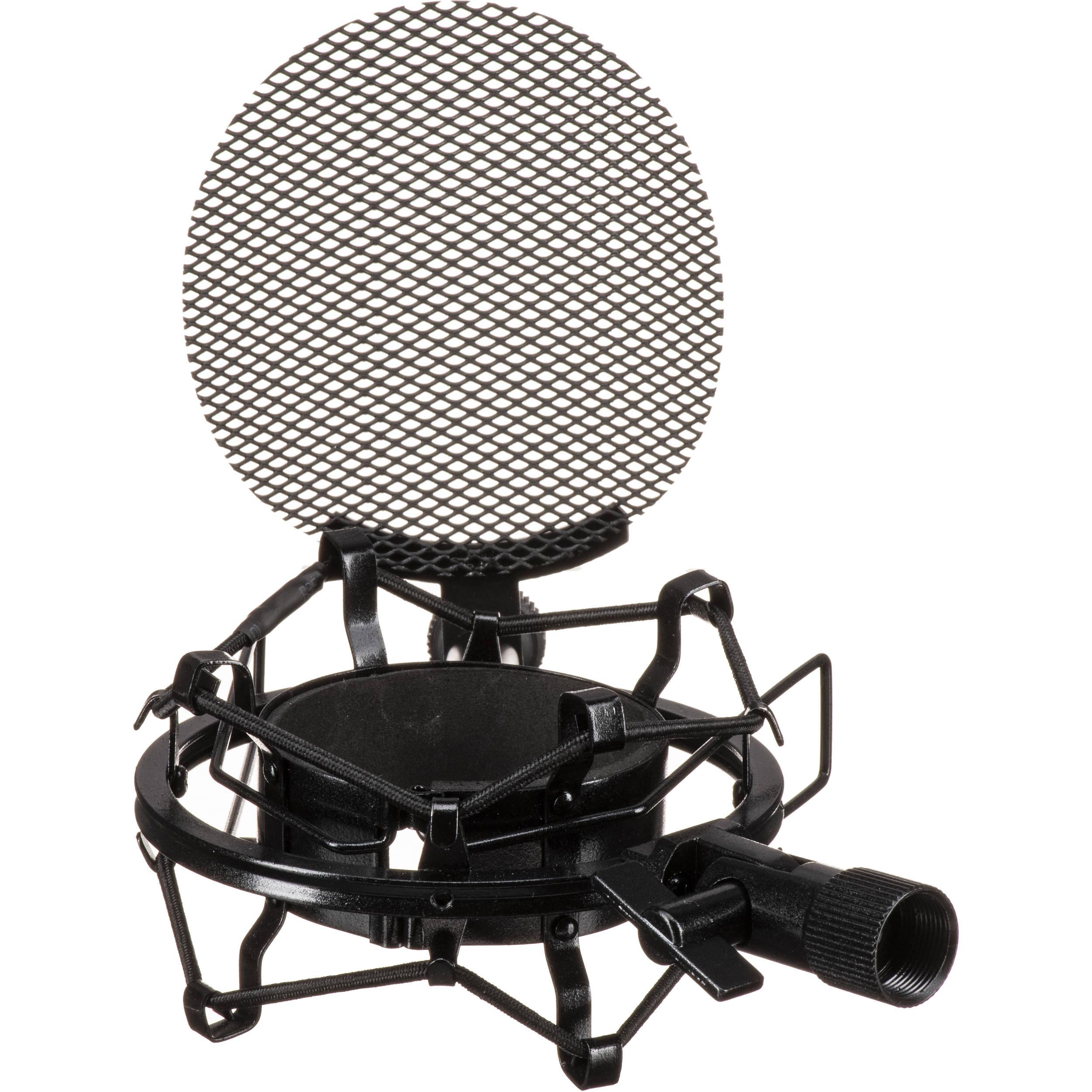 mxl smp 1 shockmount with built in metal pop filter for 770. Black Bedroom Furniture Sets. Home Design Ideas