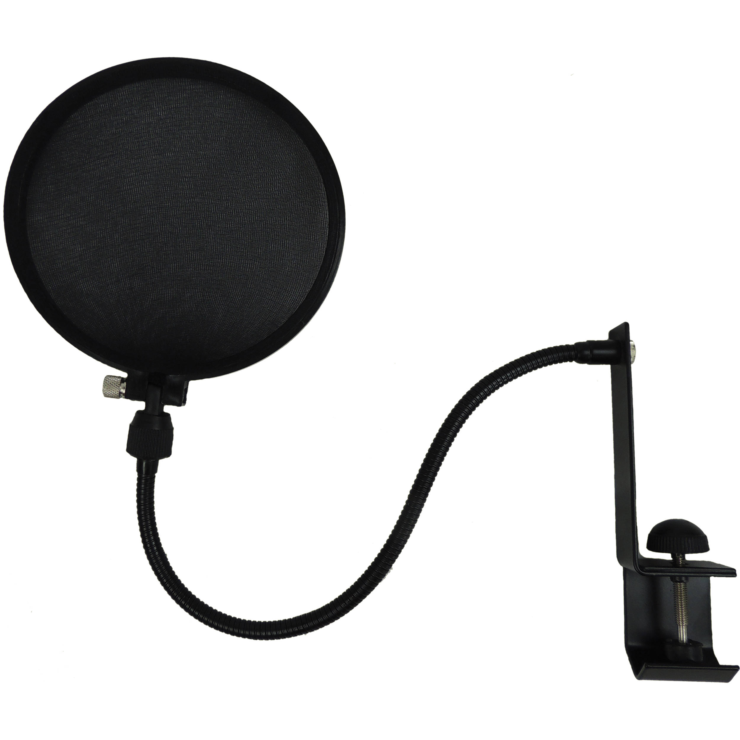 Mic Stand With Pop Filter : nady microphone pop filter with boom and stand clamp spf 1 b h ~ Hamham.info Haus und Dekorationen