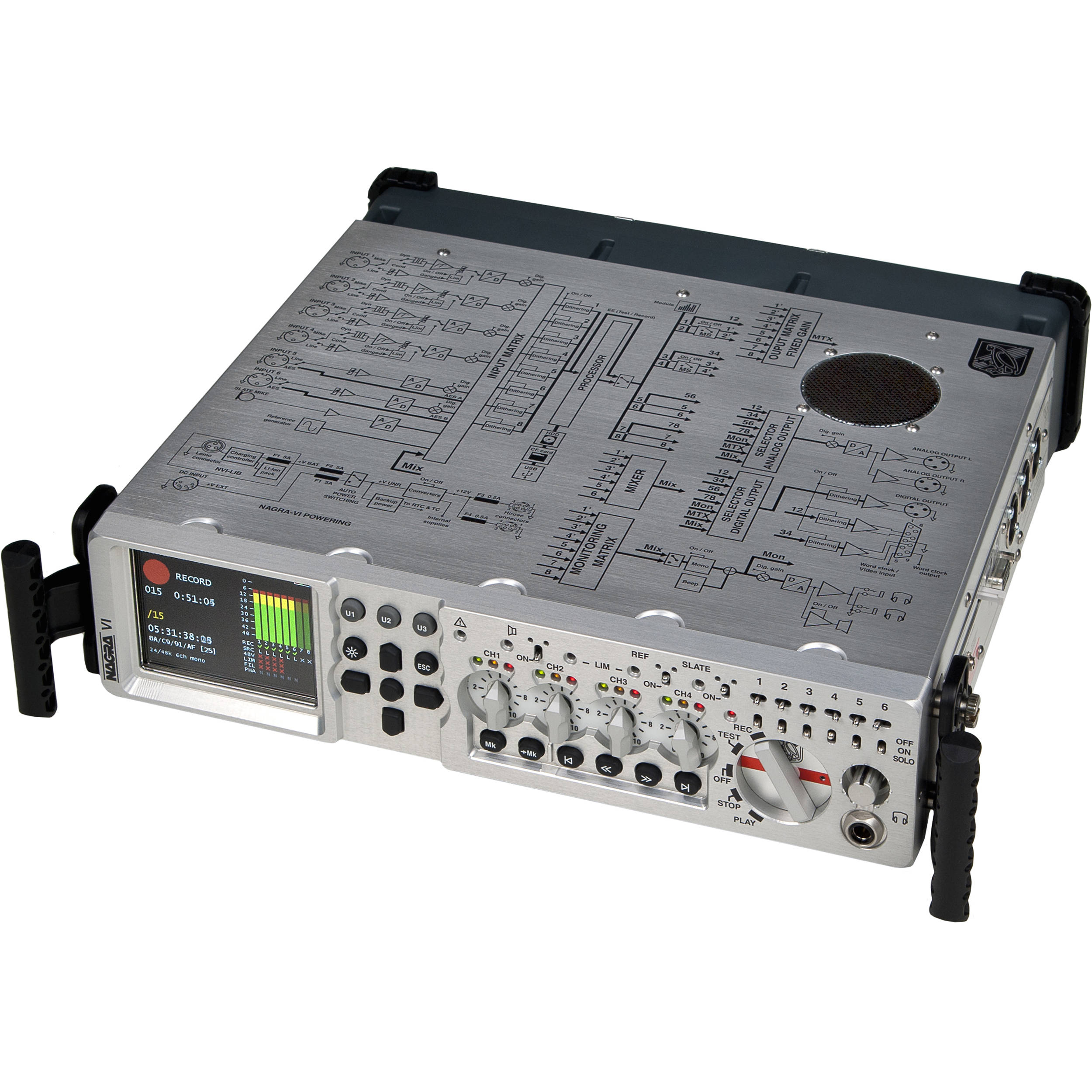 nagra vi 8 channel digital recorder 60th anniversary 7032004000 rh bhphotovideo com Nagra Audio Nagra Audio