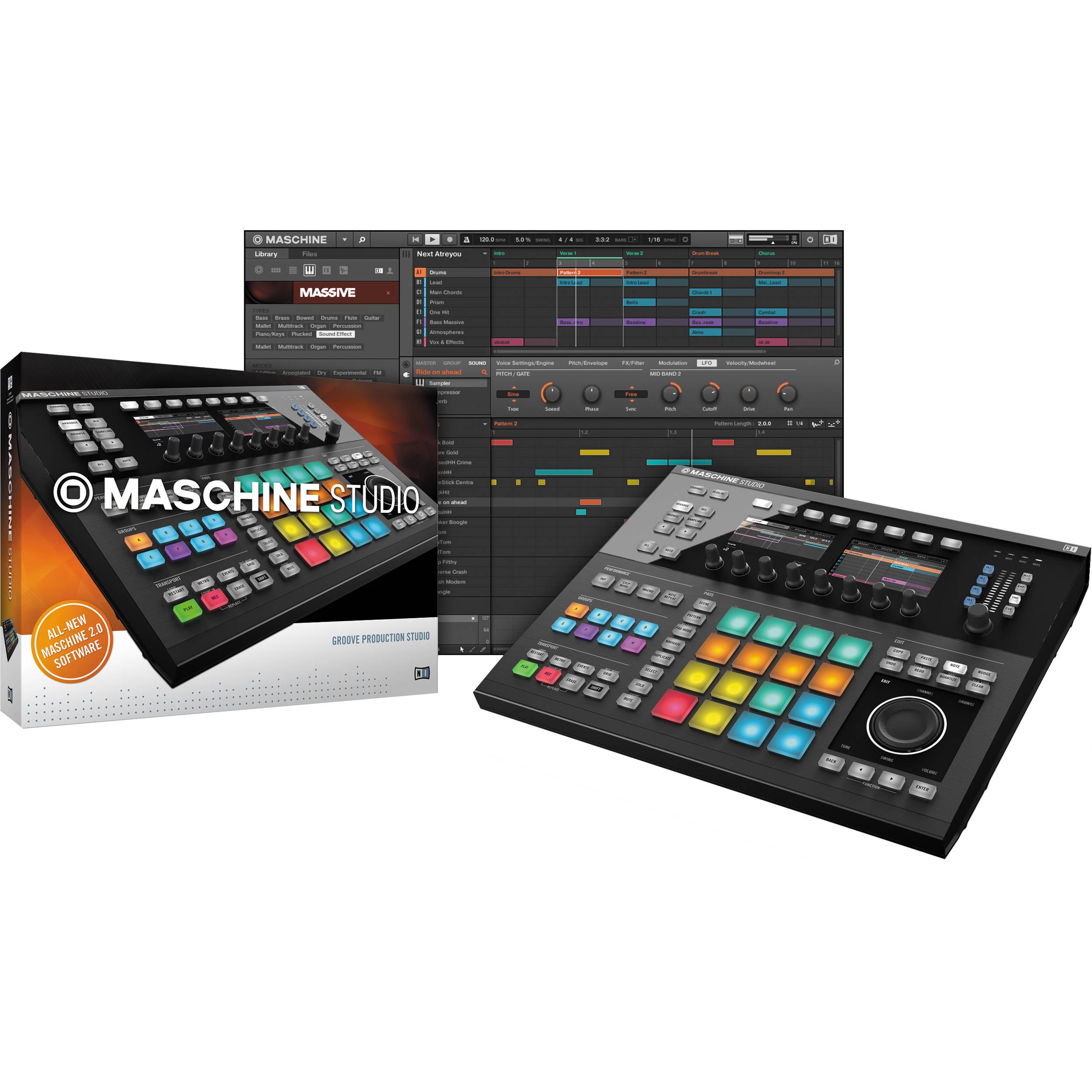machine groove production studio