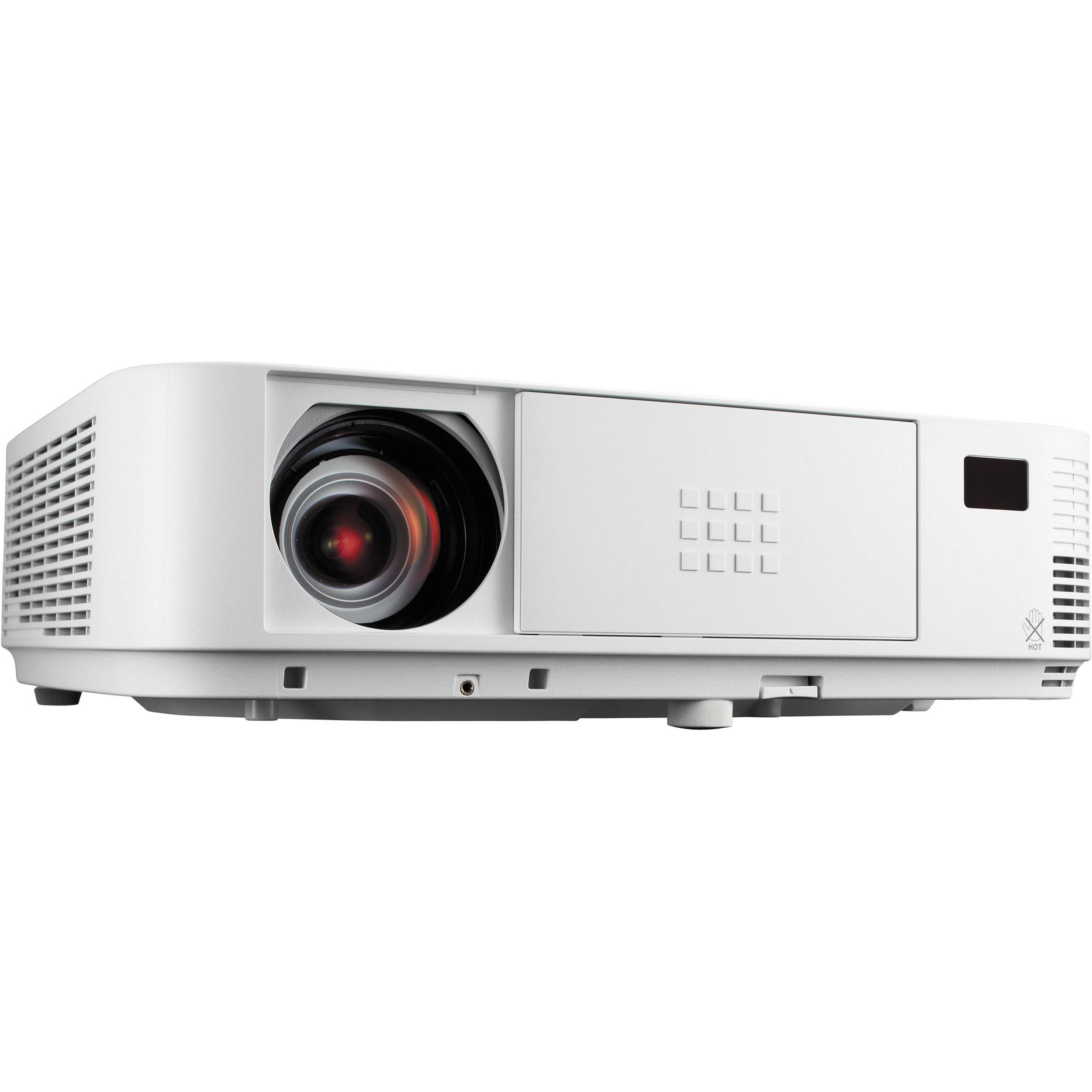 Nec np m322x 3200 lumen portable dlp projector np m322x b h for Lumen pocket projector