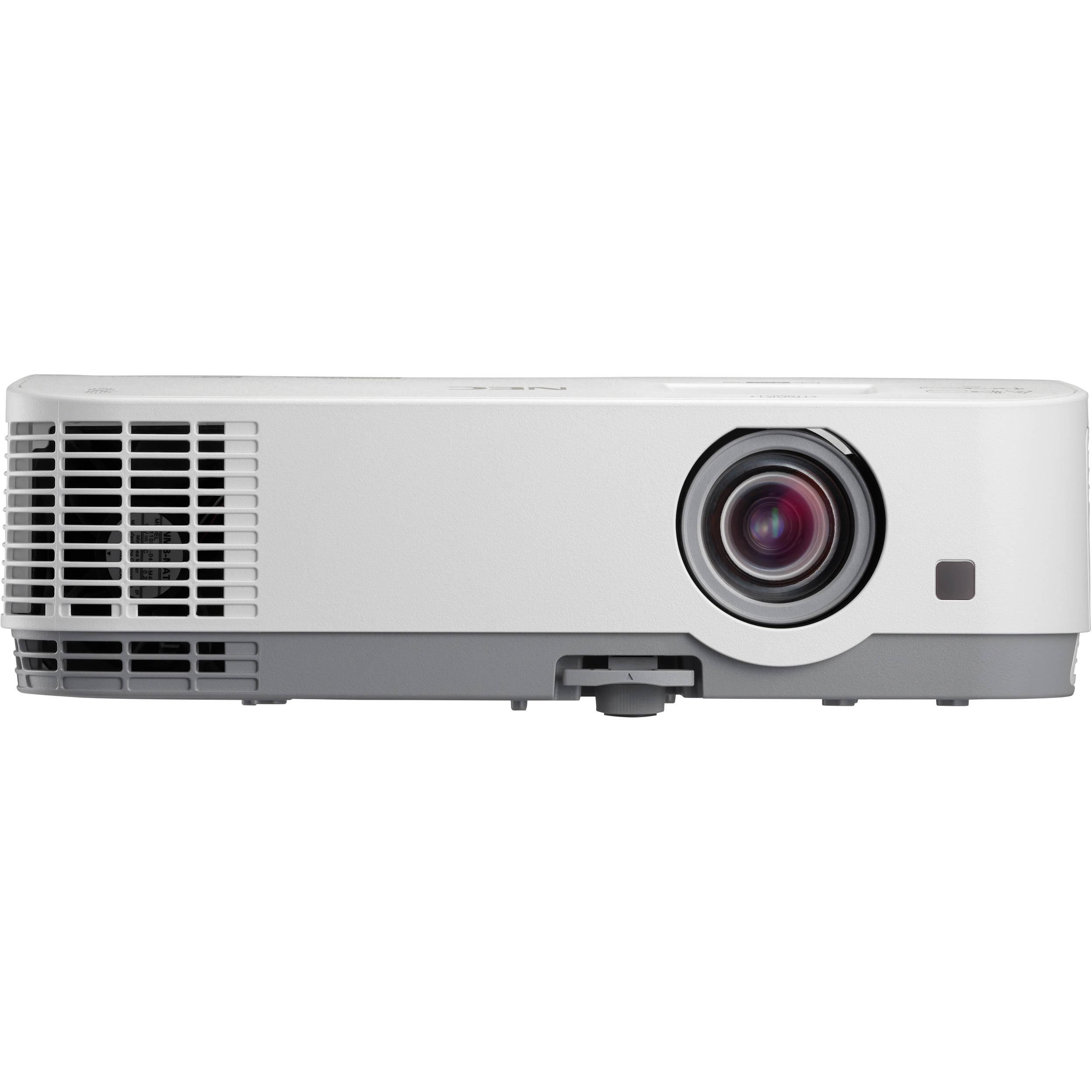 "nec np me401x 4000 lumen xga lcd projector np me401x b h photo rh bhphotovideo com NEC MultiSync 19"" LCD NEC LCD 4 X 3"