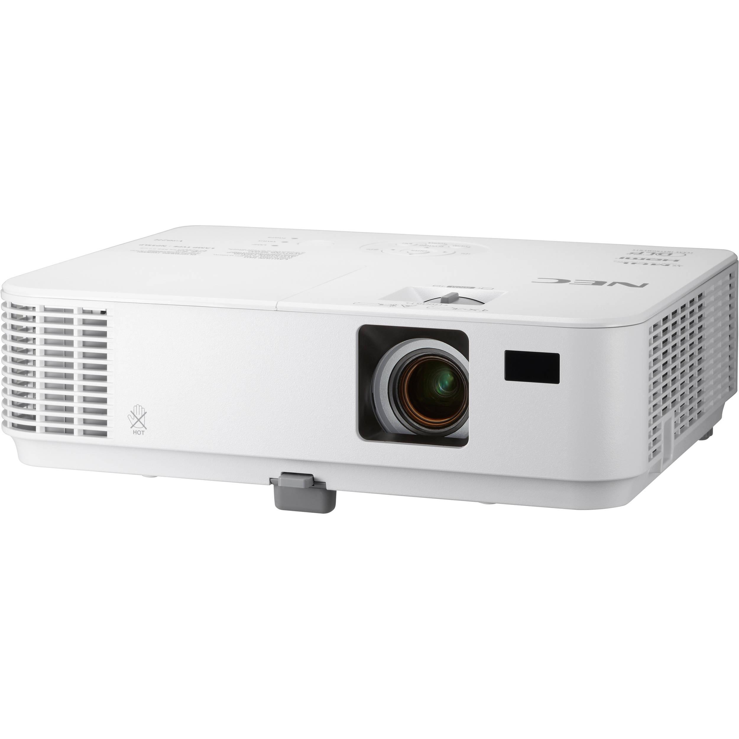 NEC V Series NP-V332W 3300-Lumen WXGA DLP Projector NP ...