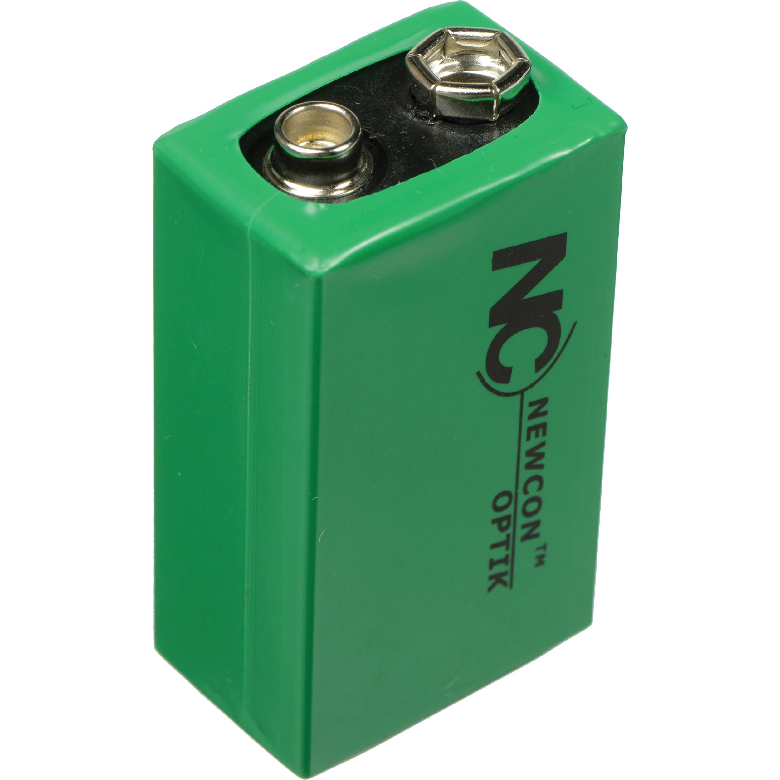 newcon optik lithium non magnetic battery 9v battery 9v b h. Black Bedroom Furniture Sets. Home Design Ideas