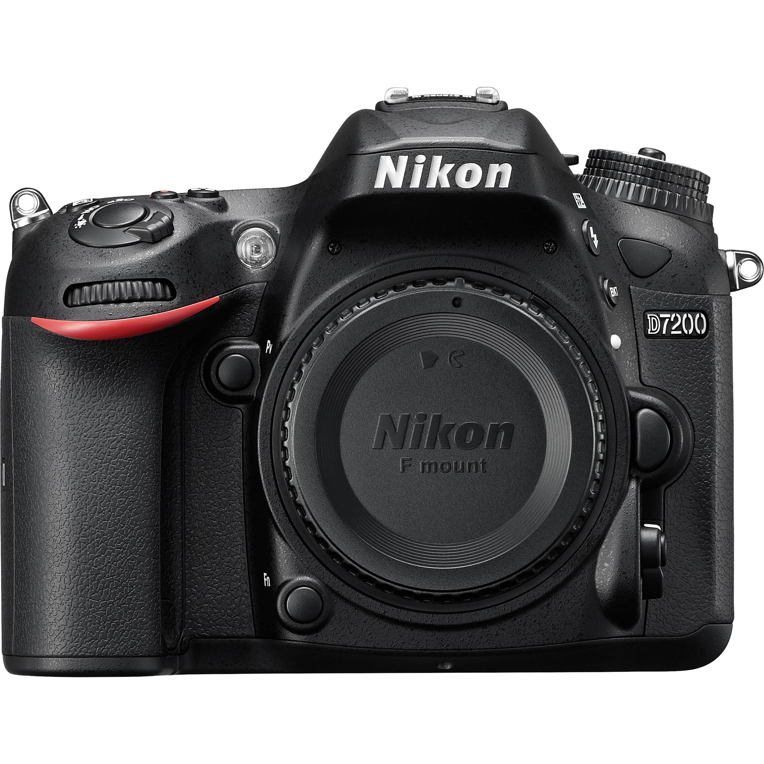 7347518991 Nikon D7200 DSLR Camera (Nikon D7200 Body) 1554 B H Photo Video