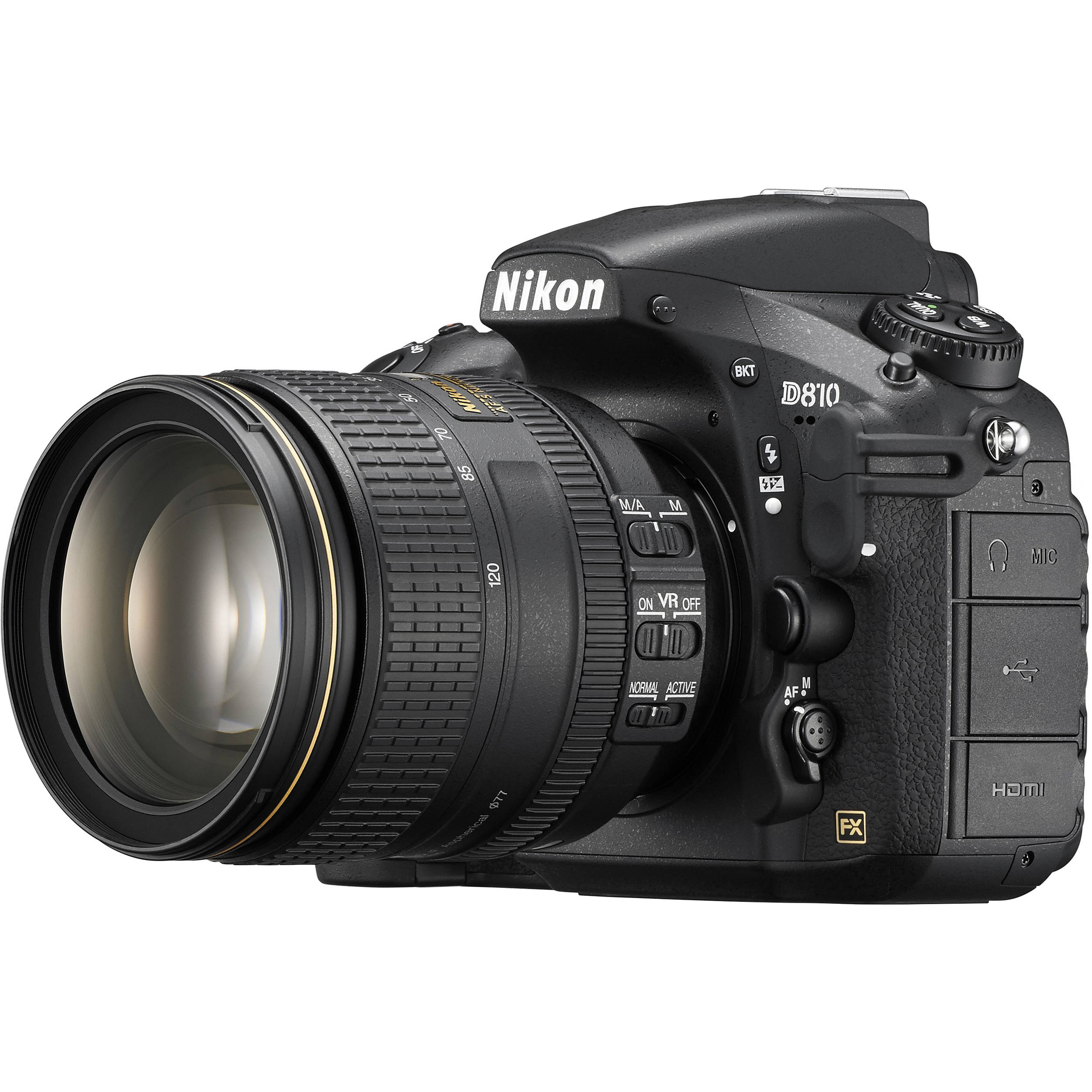 Nikon D810 DSLR Camera with 24120mm Lens 1556 Bamp;H Photo Video
