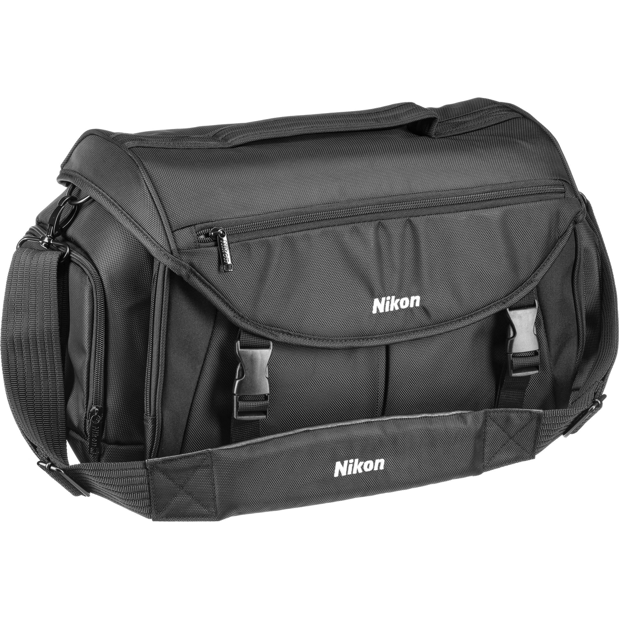 Nikon Large Pro Camera Bag Black 17008 B H Photo Video