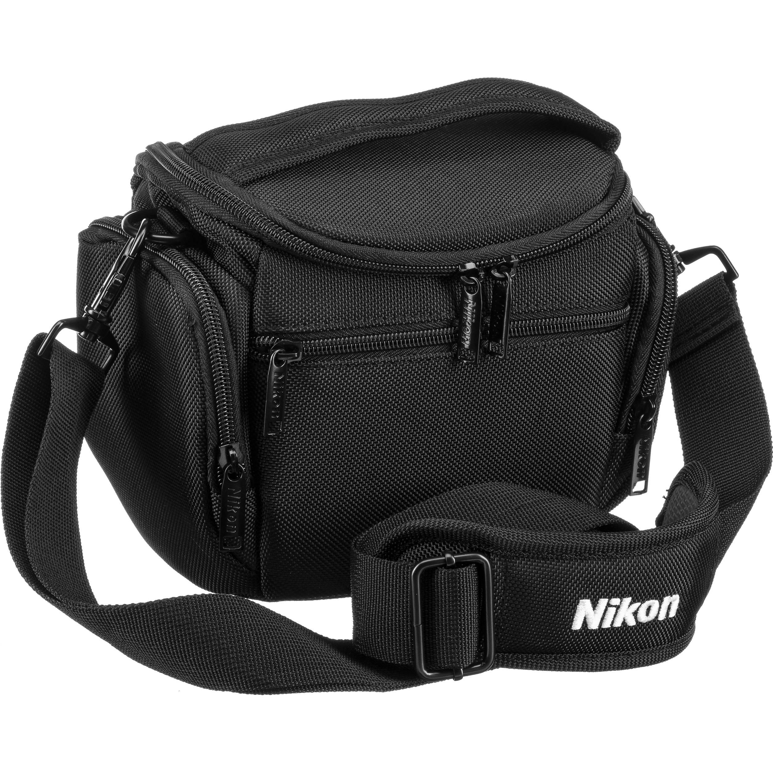 Nikon Compact Camera Bag For Coolpix Or Nikon 1 Camera 17009 B H