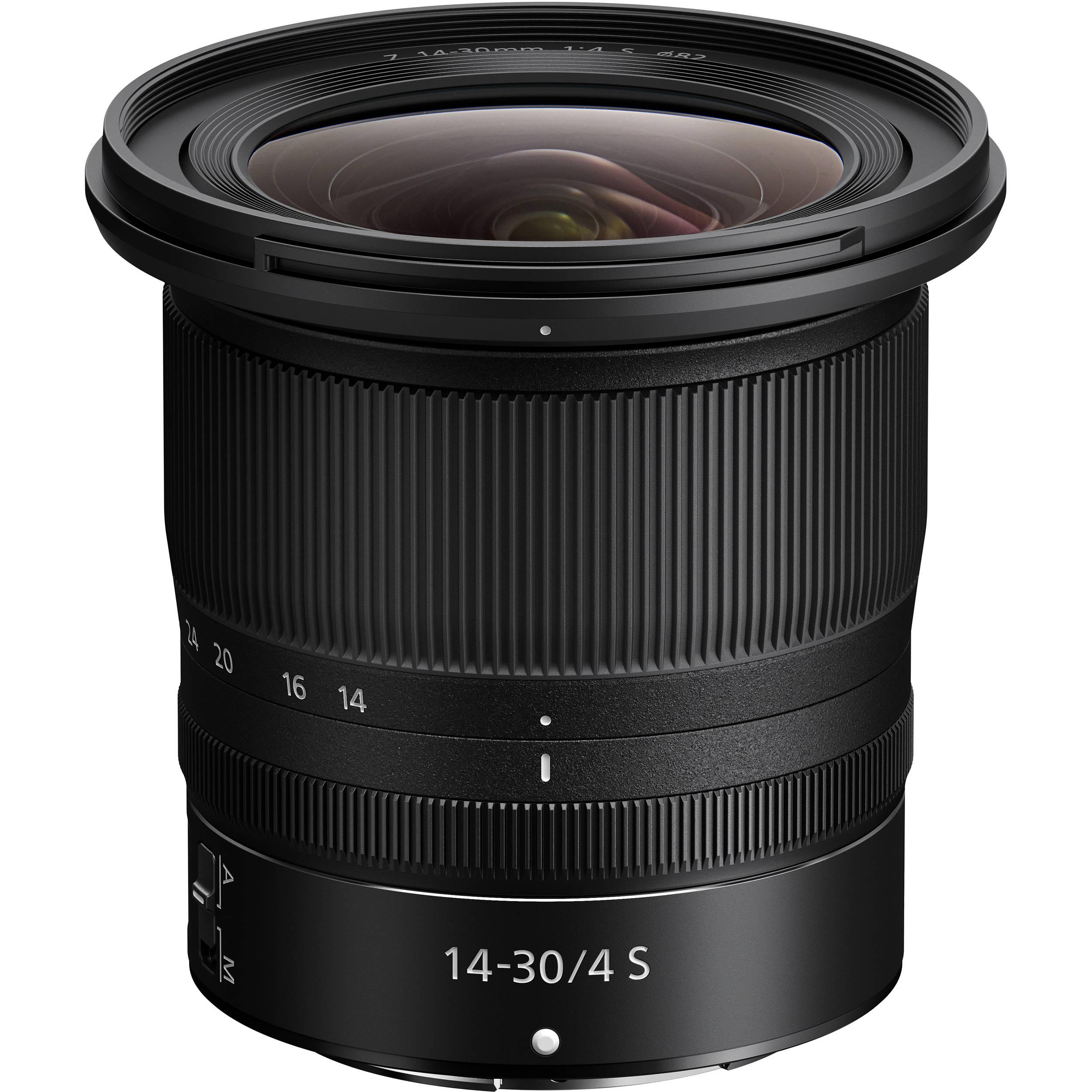 c3f1d419b641 Nikon NIKKOR Z 14-30mm f 4 S Lens 20070 B H Photo Video