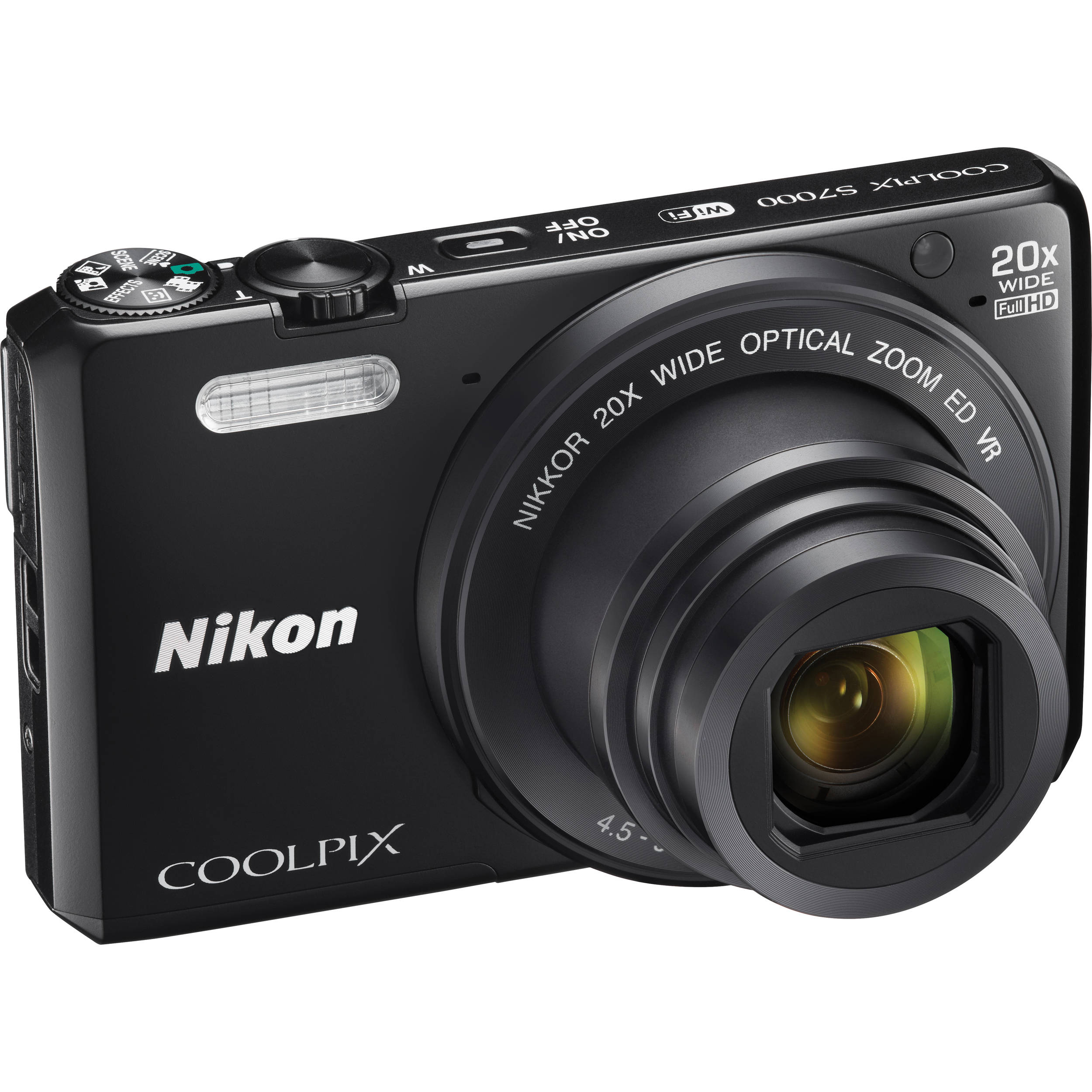 nikon coolpix s7000 digital camera 26483 b h photo video. Black Bedroom Furniture Sets. Home Design Ideas