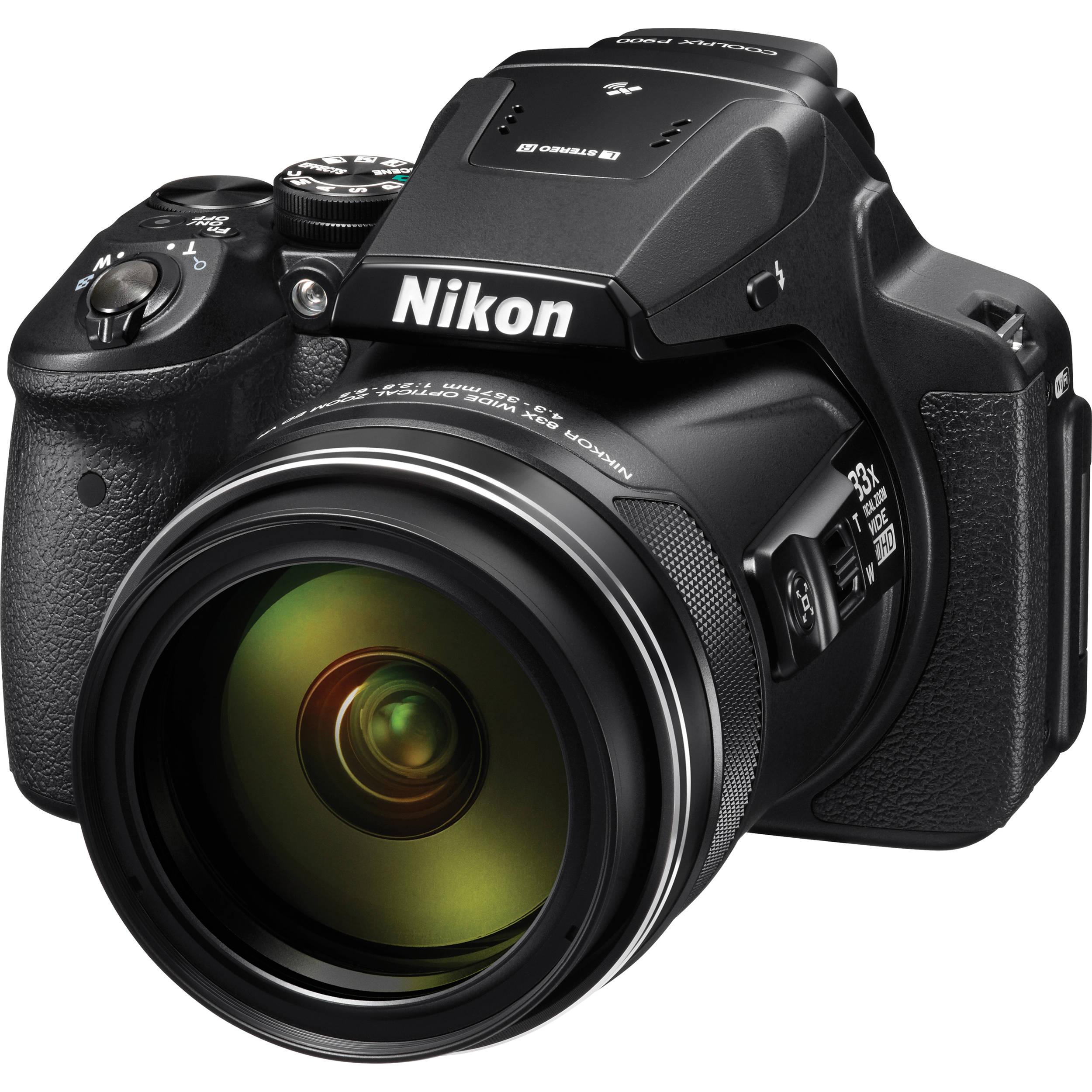 Nikon COOLPIX P900 Digital Camera (Refurbished) 26499REF B&H