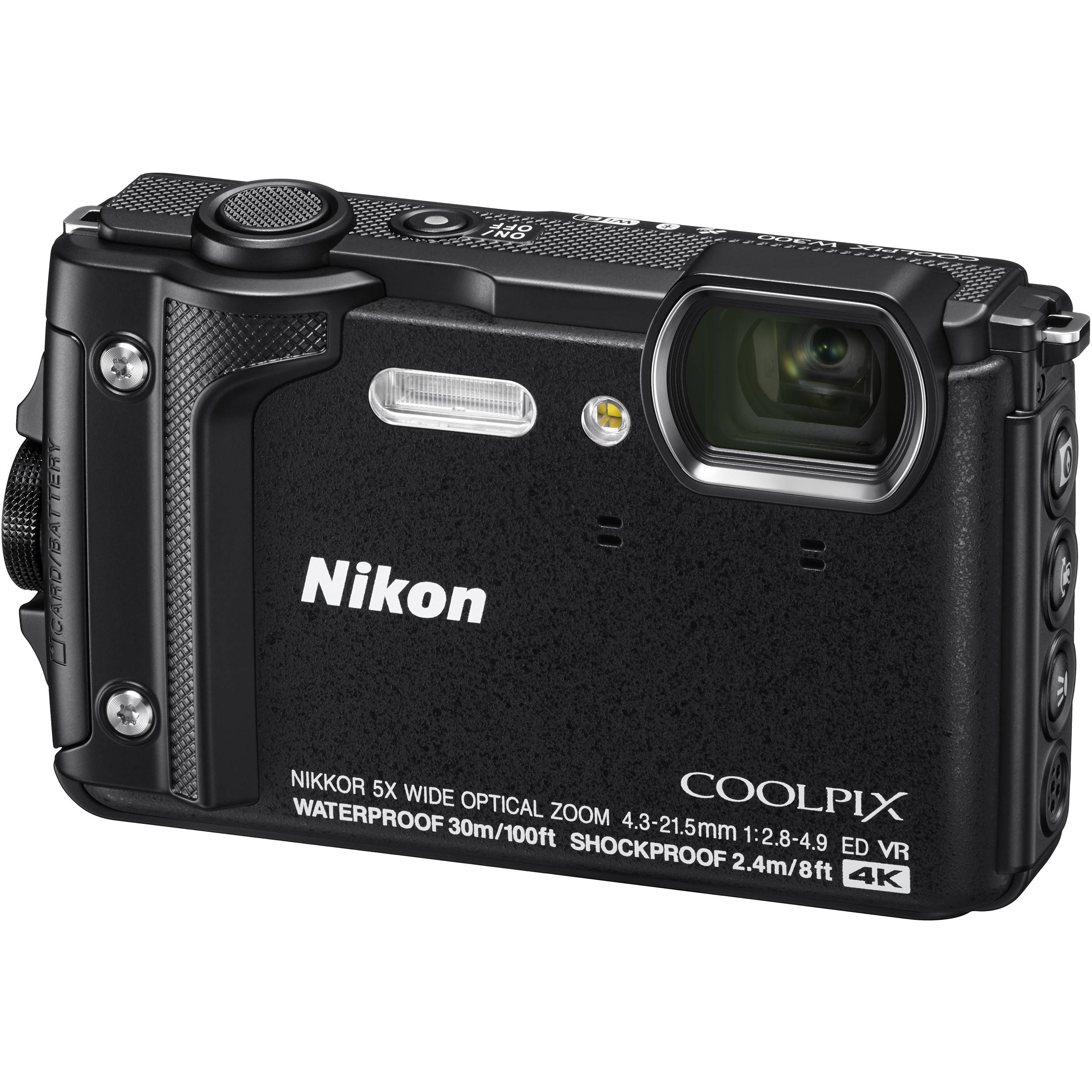 Nikon Coolpix W300 Digital Camera Black 26523 Bh Photo Video Flash Circuit Further Disposable Schematic