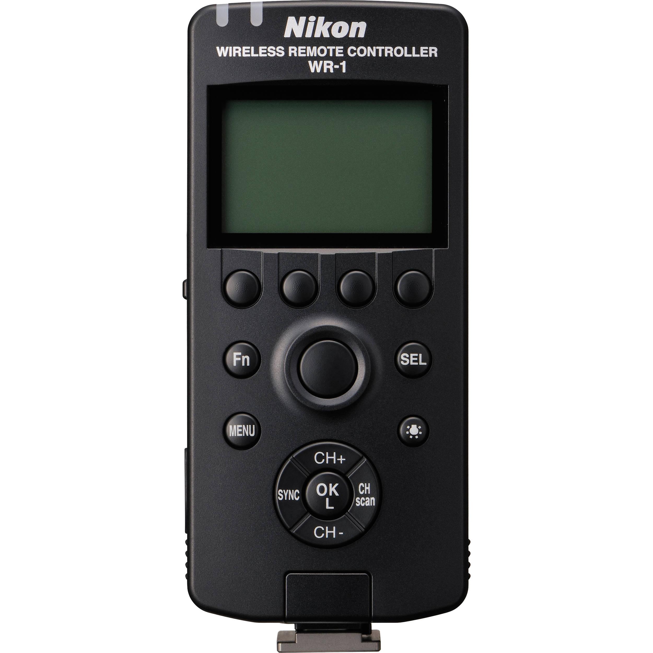Nikon Wr 1 Wireless Remote Control Transceiver 27115 B Amp H Photo