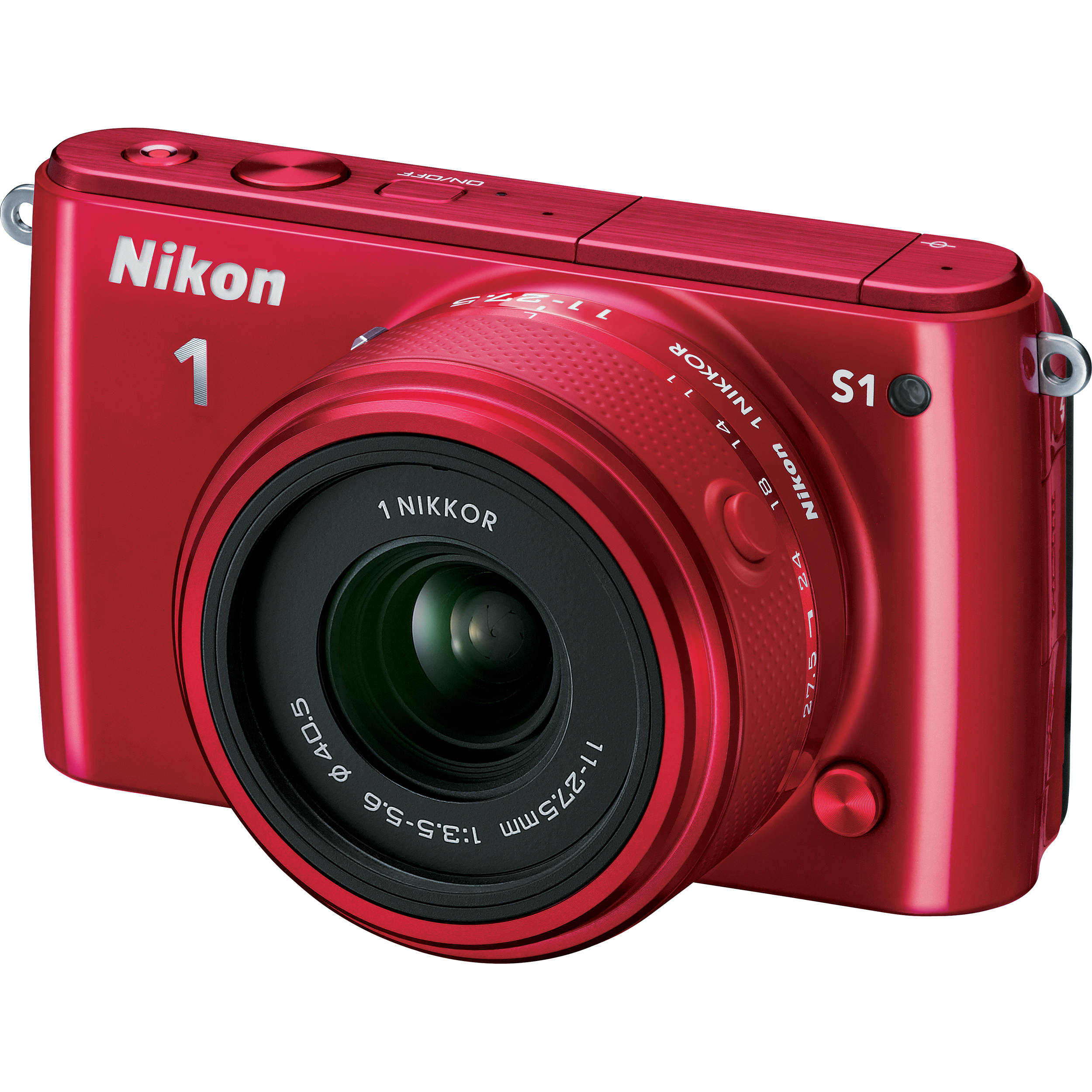 Nikon 1 S1 Mirrorless Digital Camera With 11 275mm Lens 27619 Click Image For Larger Versionnameimg1634jpgviews268size638 Kbid Red