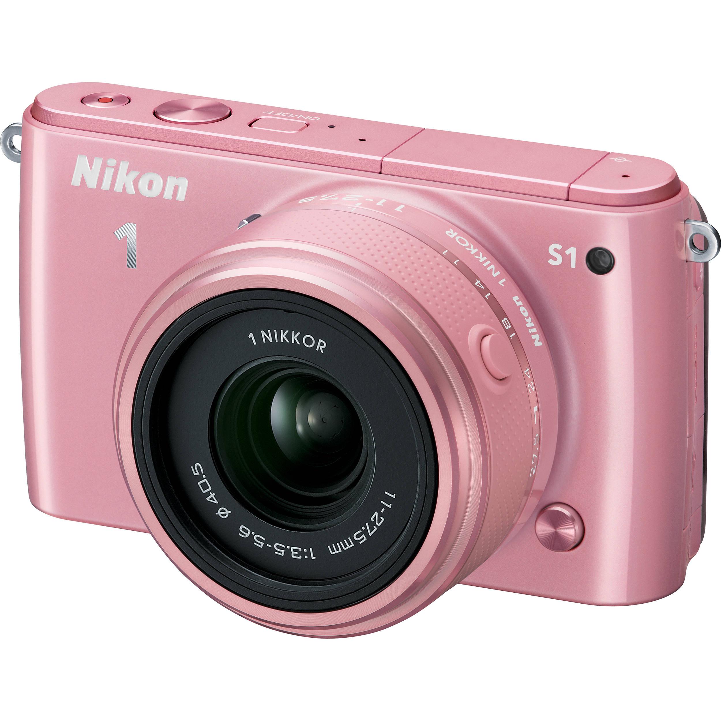 Nikon 1 S1 Mirrorless Digital Camera with 11-27.5mm Lens 27620