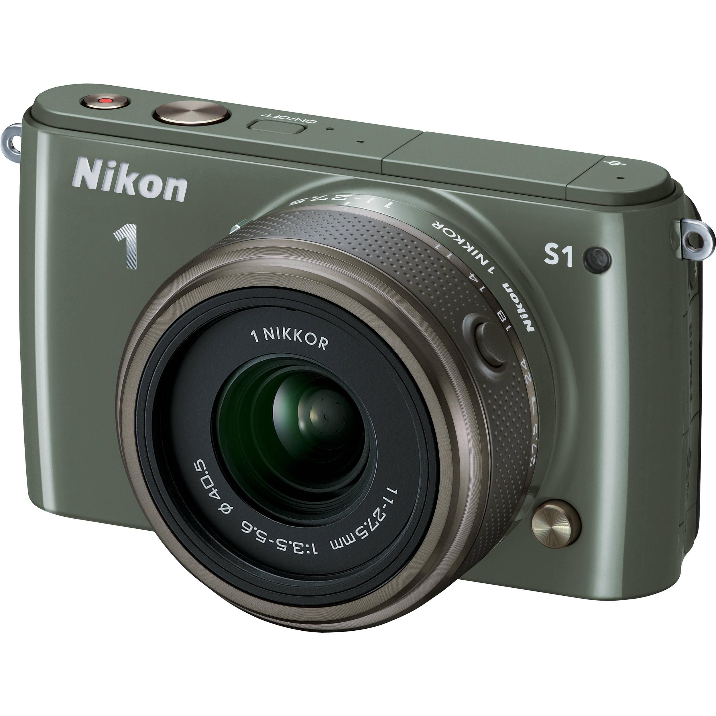 Nikon 1 S1 Digital Camera Treiber