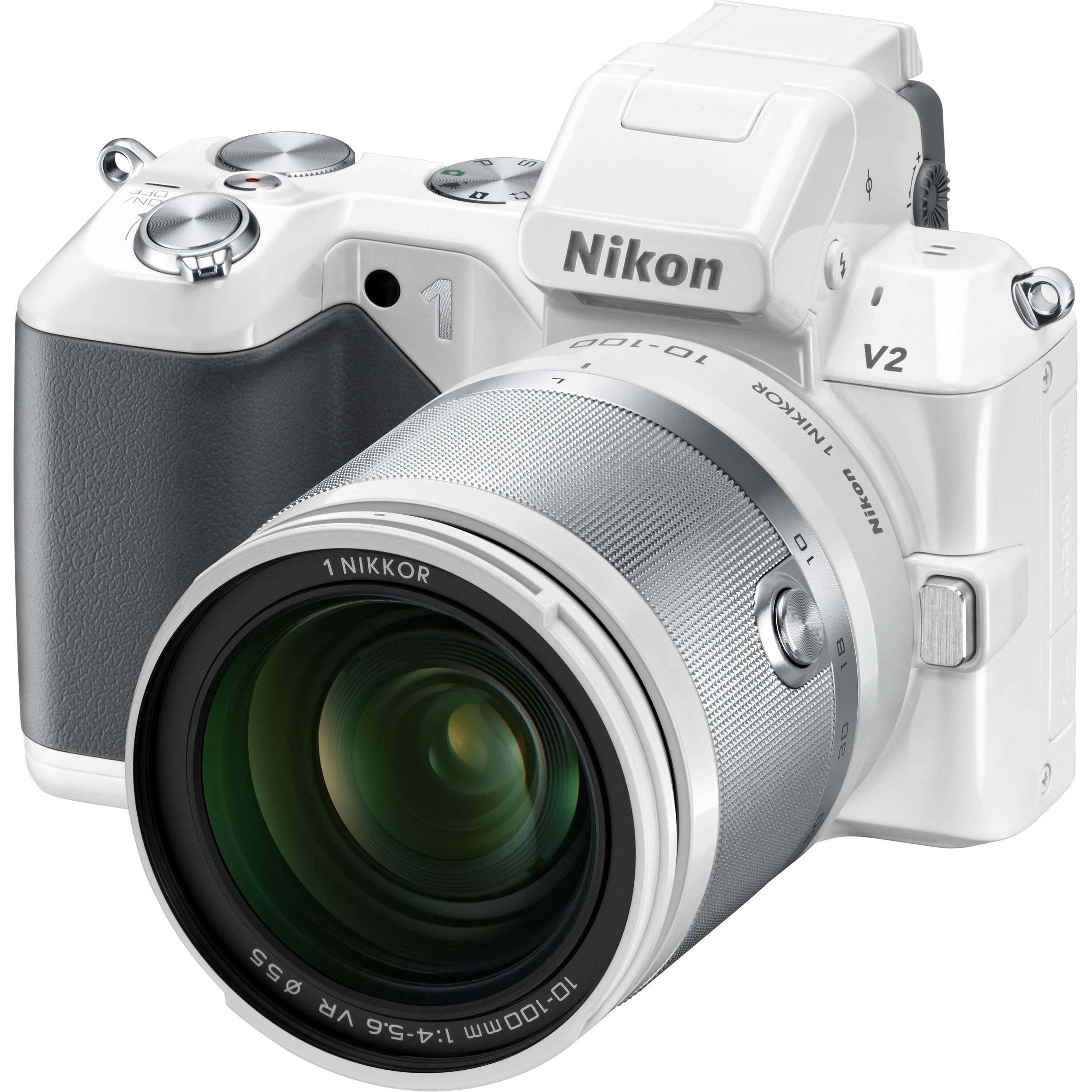 Nikon 1 V2 Mirrorless Digital Camera with 1 NIKKOR 27663 B&H