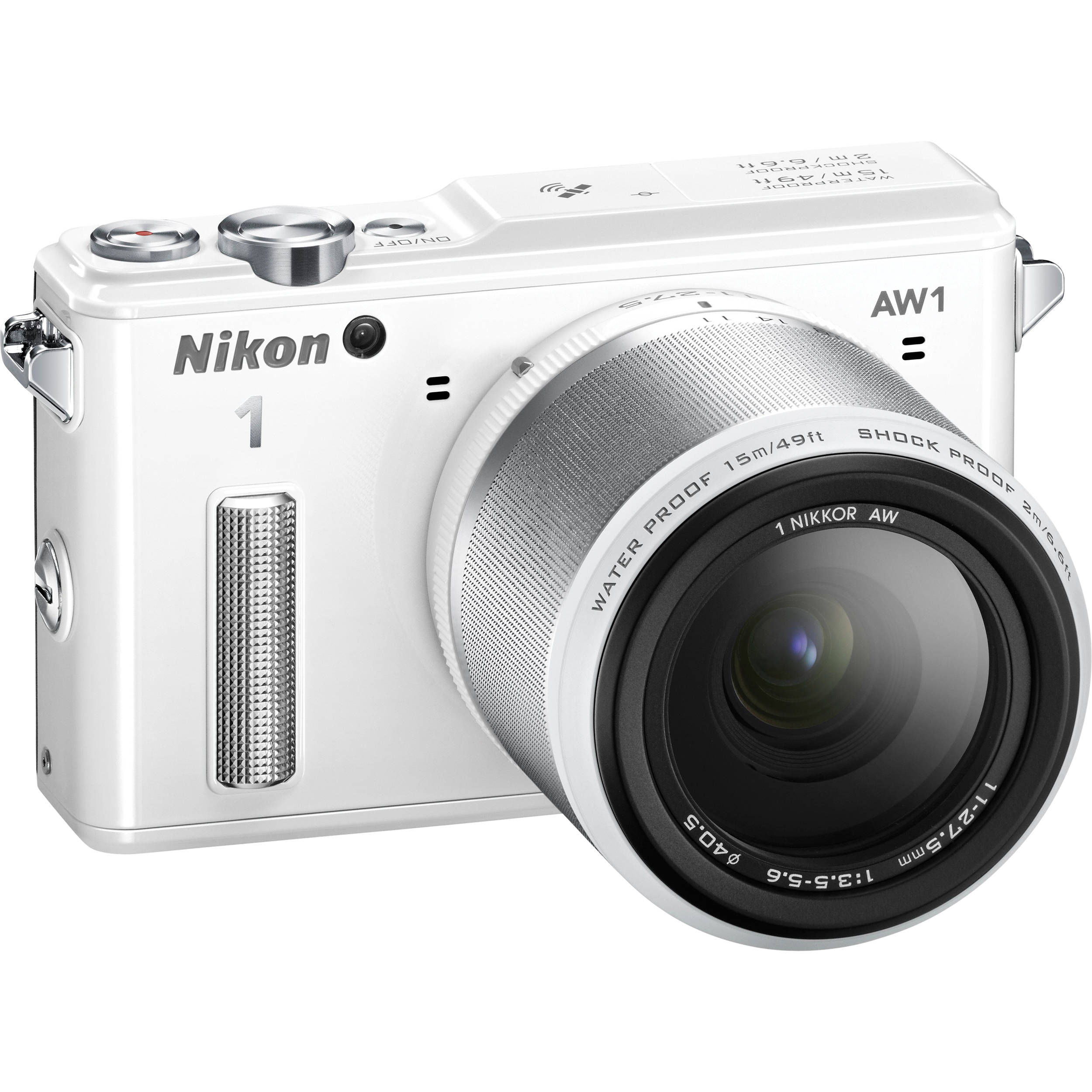 Nikon 1 Aw1 Mirrorless Digital Camera With 11 27 5mm Lens