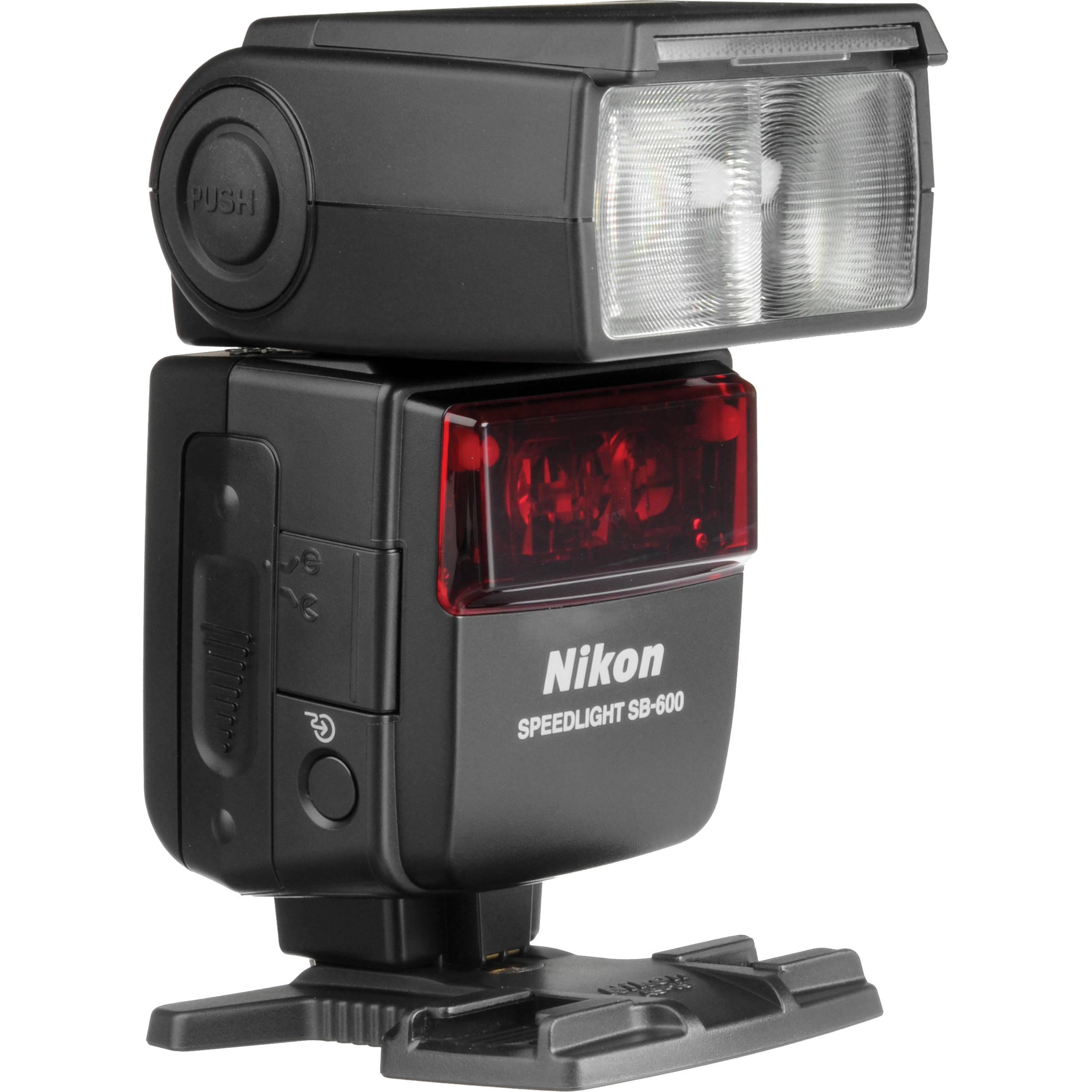 used nikon sb 600 af speedlight i ttl shoe mount flash 4802 b h rh bhphotovideo com Flash for Nikon SB-600 Flash for Nikon SB-600