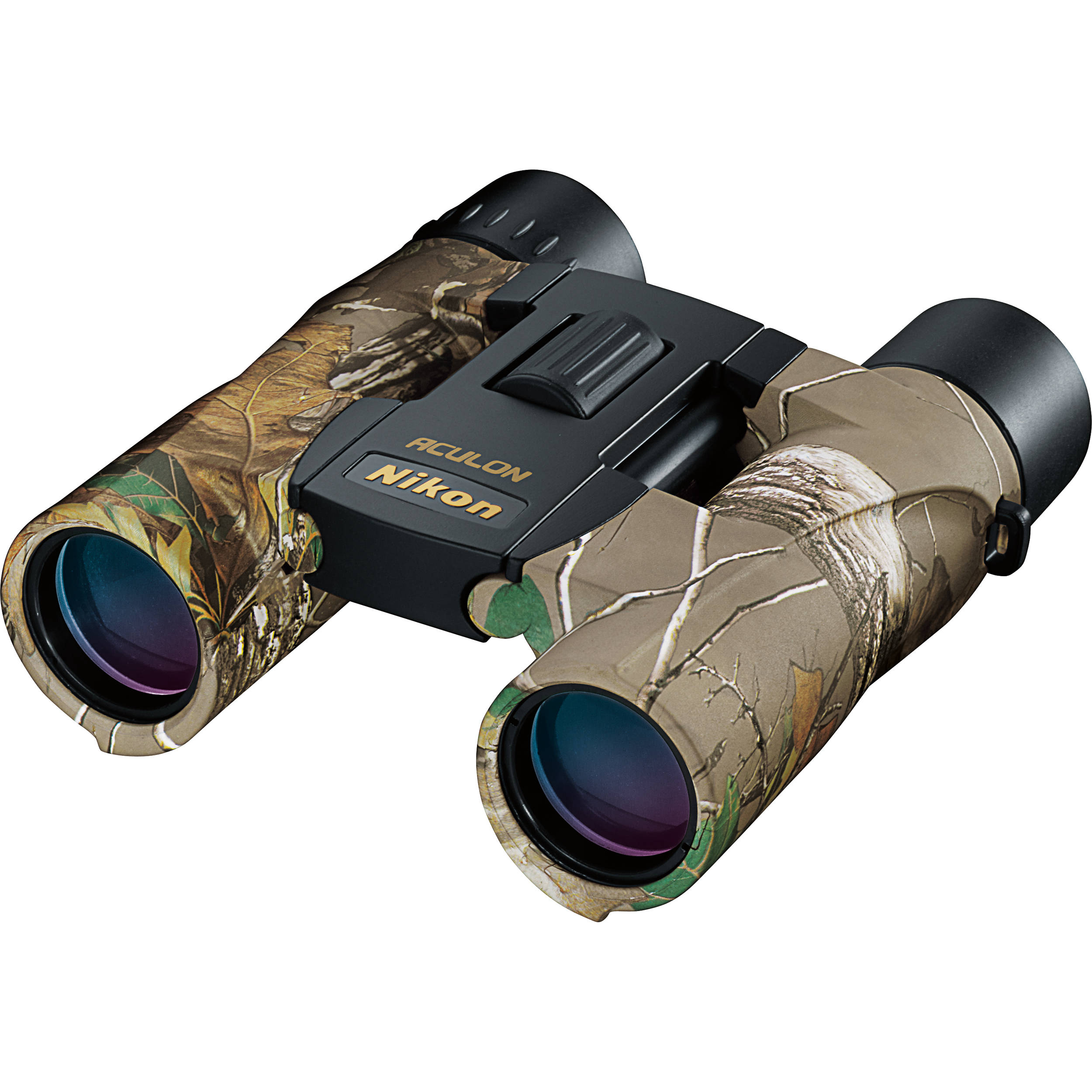 Nikon 10x25 Aculon A30 Binocular Realtree Camo 8264 B Amp H