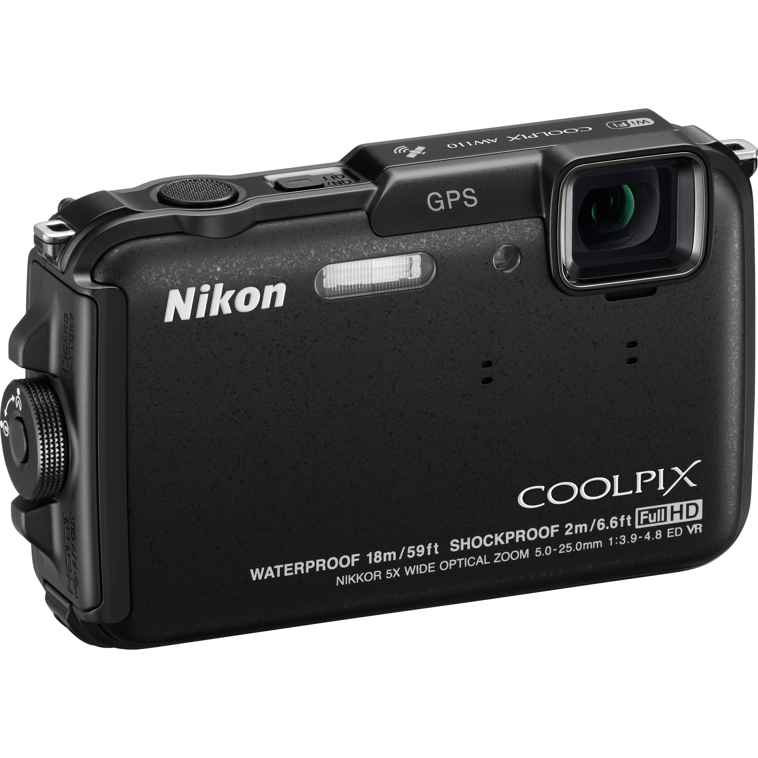 nikon coolpix aw110 digital camera black 26410 b h photo video rh bhphotovideo com coolpix aw110 manual coolpix aw110 manual