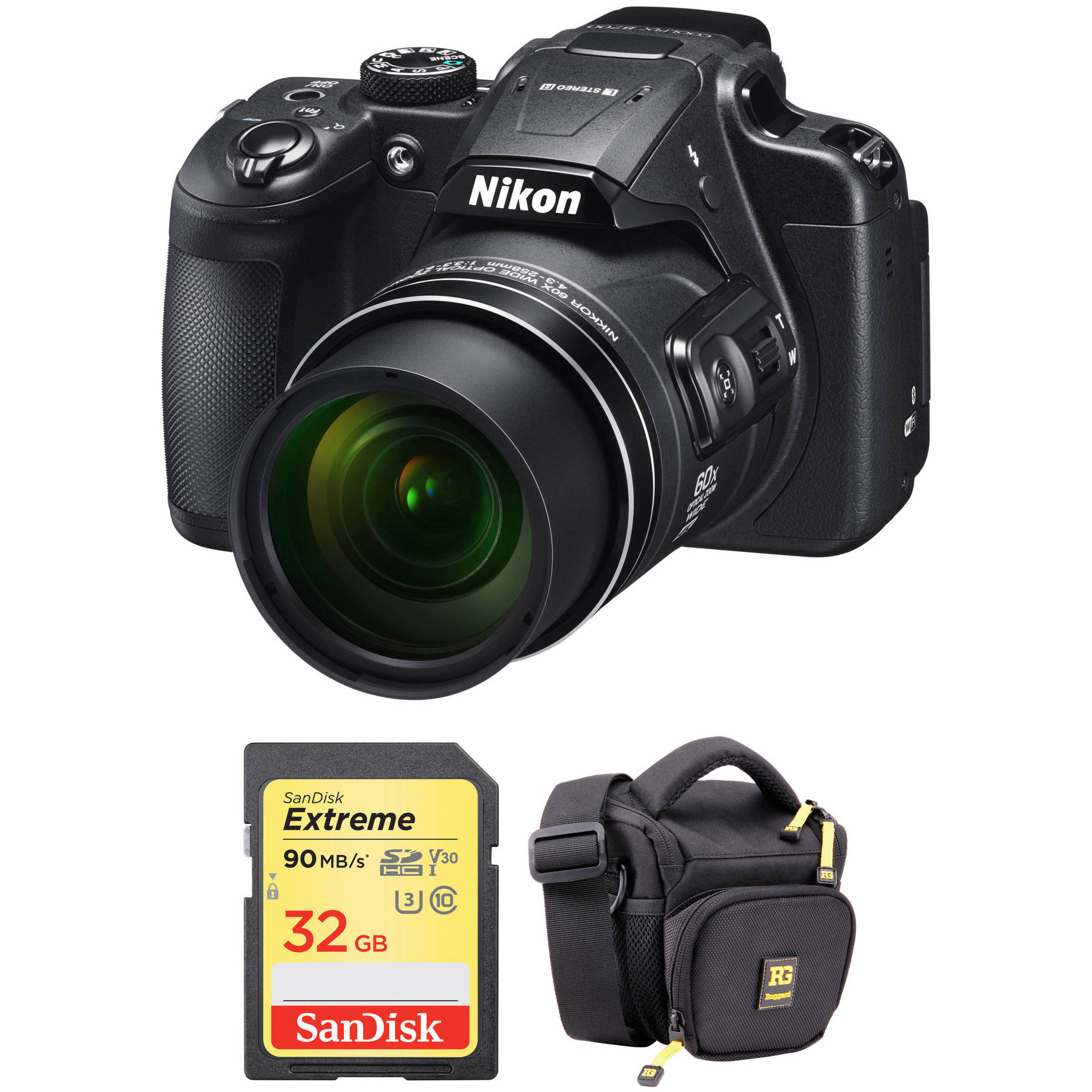 nikon coolpix b700 nikon coolpix b700 digital with accessory kit b amp h photo 525