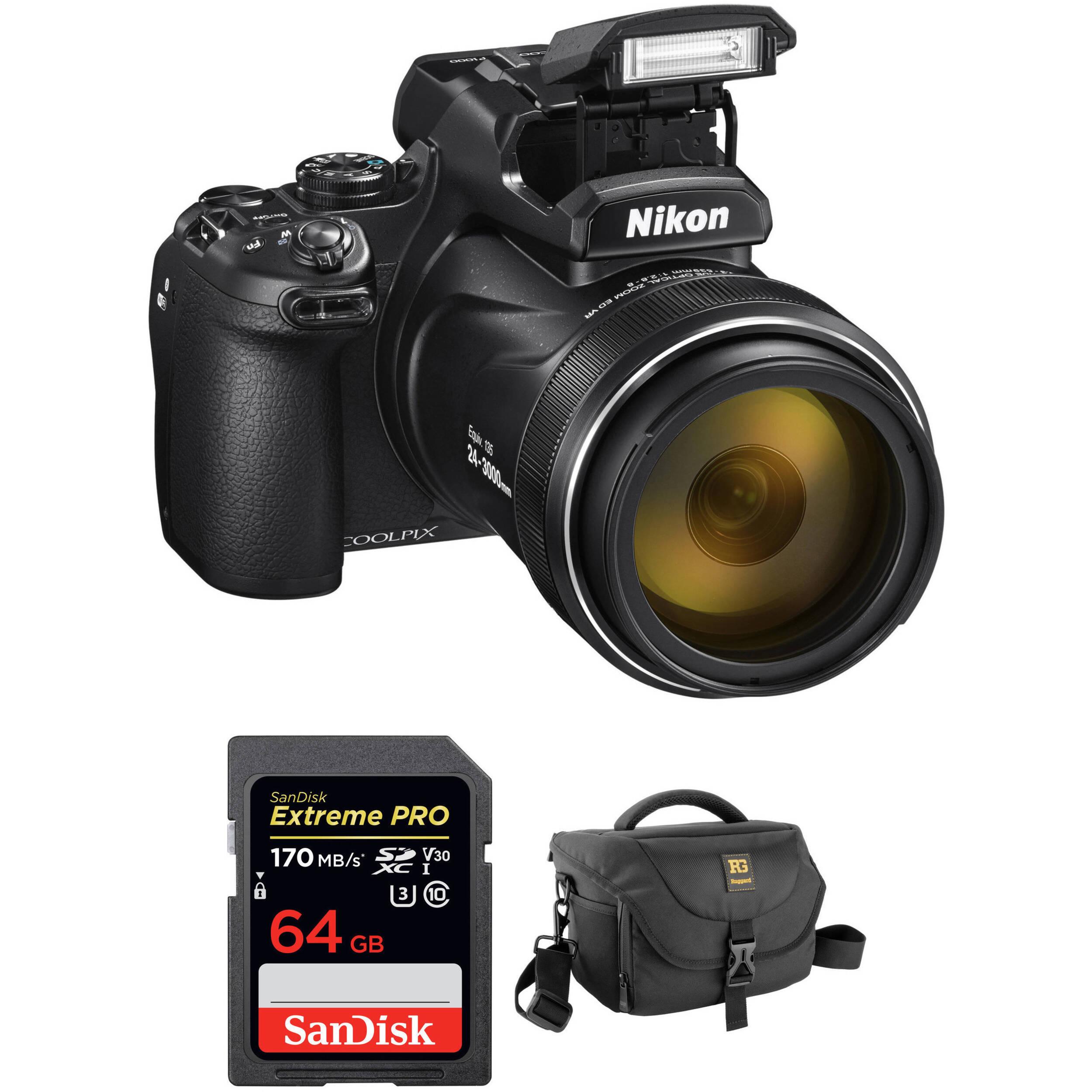Nikon ML-L7 Control remoto para COOLPIX P1000 de Japón F//S
