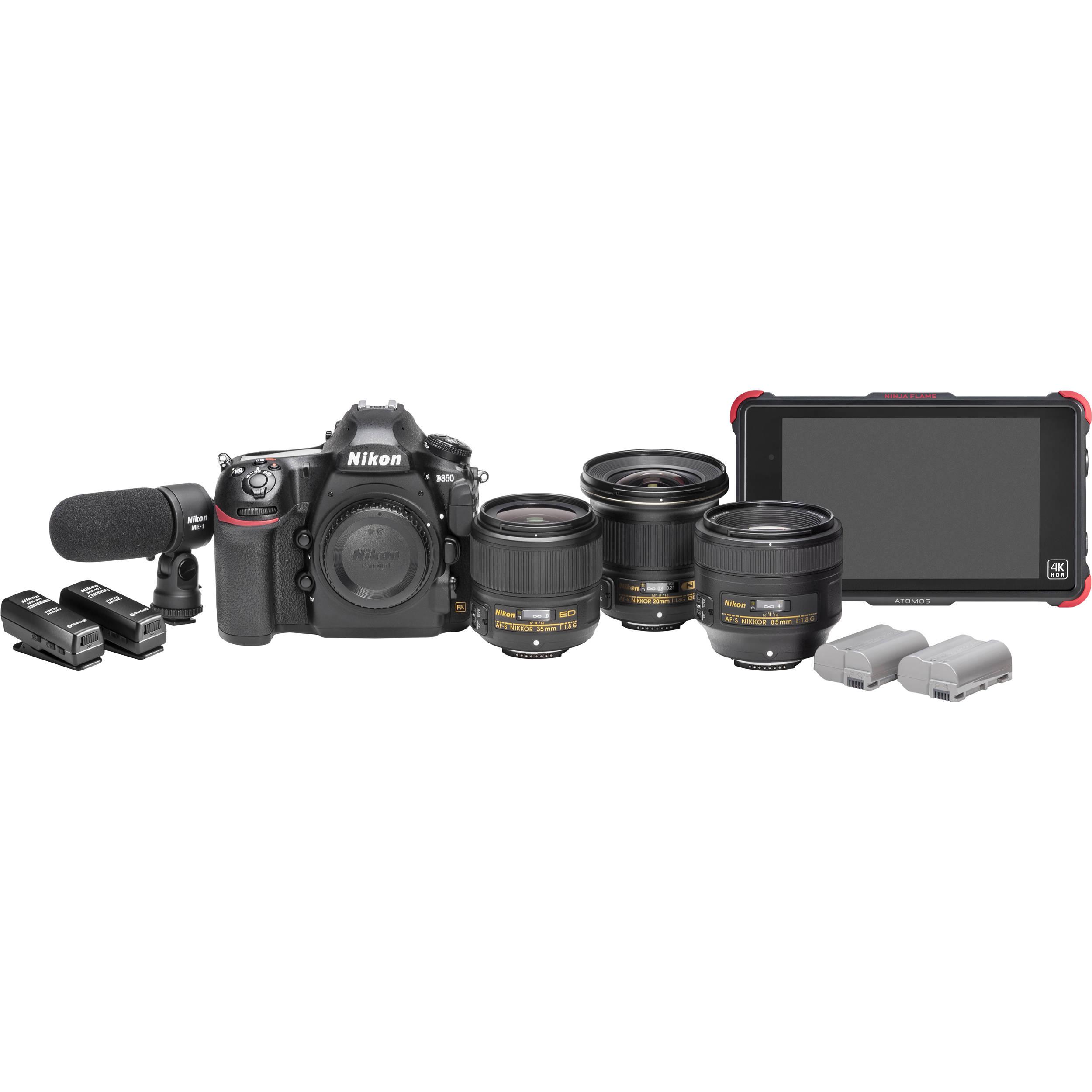 Nikon D850 Filmmaker\'s Kit 13538 B&H Photo Video