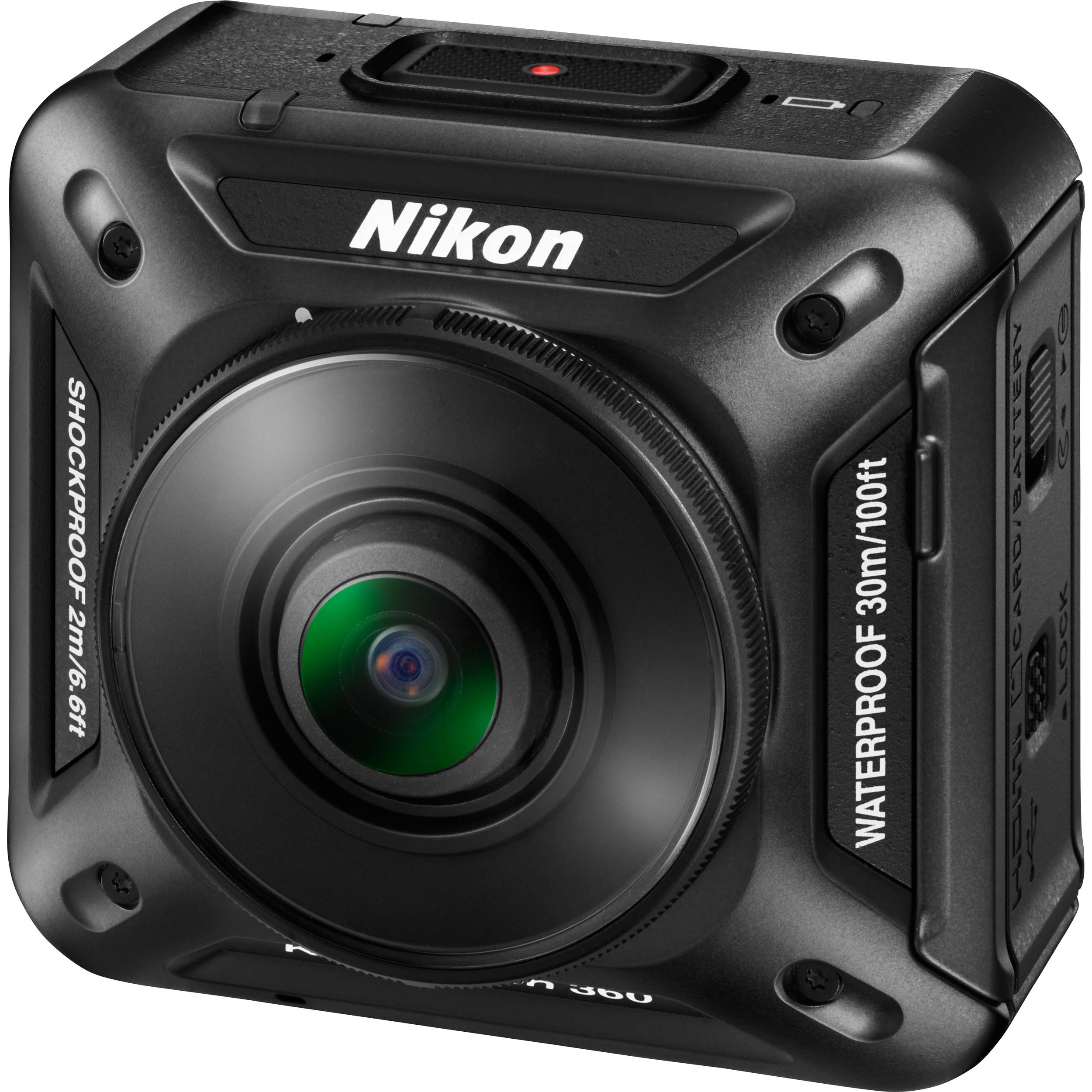 Nikon KeyMission 360 4K Action Camera 26513 B&H Photo Video