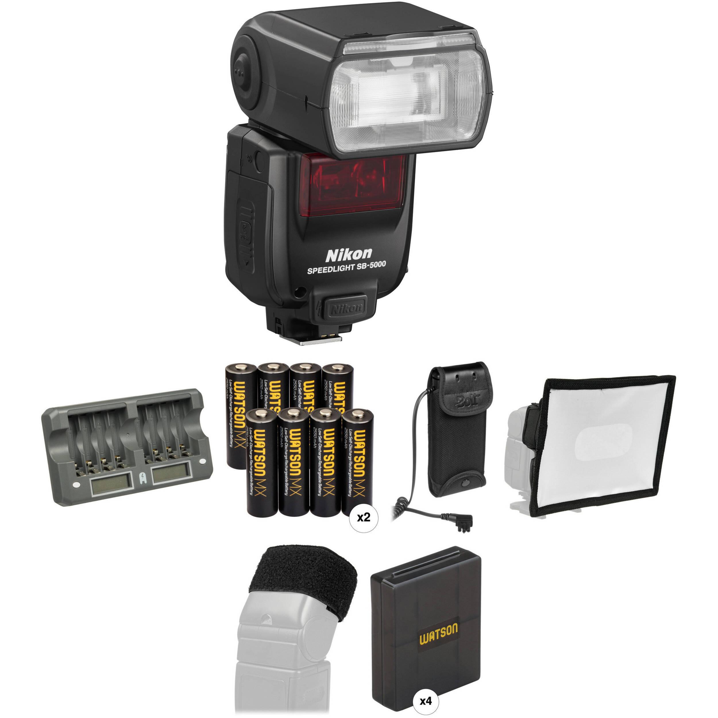 Nikon sb 700 speedlight i ttl bh photo video nikon sb 5000 af speedlight wedding and event kit baditri Images
