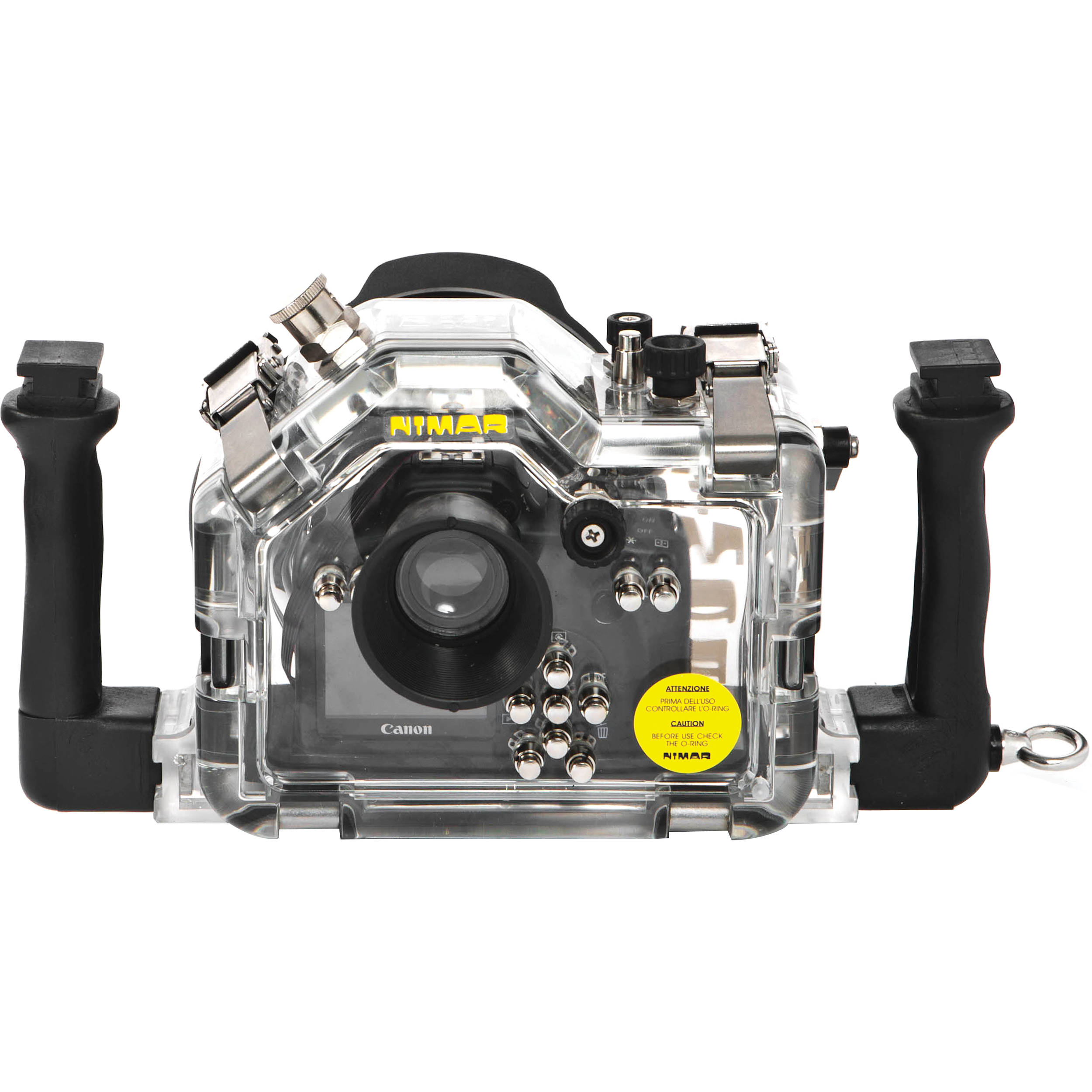 Camera Dslr Camera Without Lens nimar underwater housing for canon eos 1100d dslr camera ni1100d without lens port shown with optional accessories