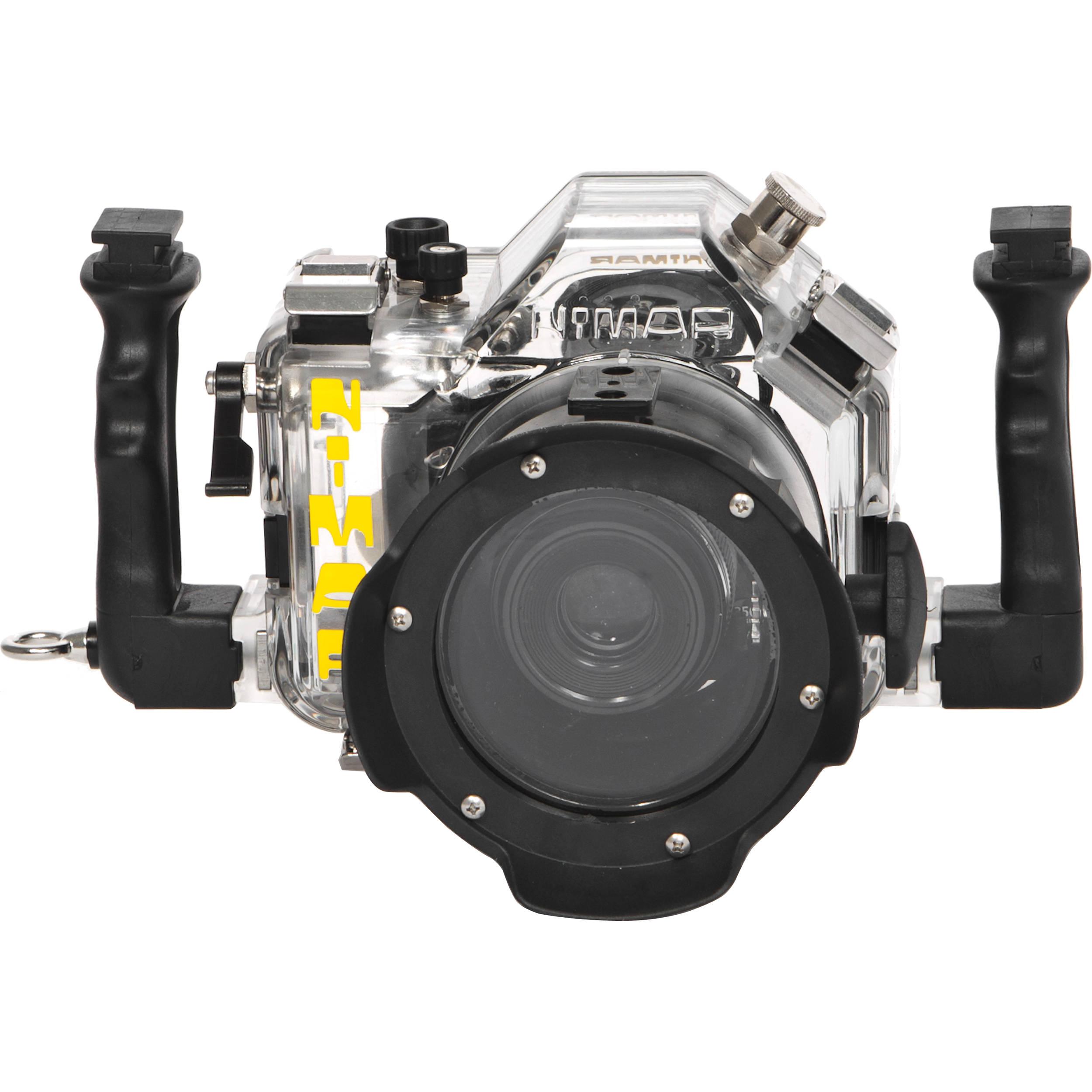 nimar underwater housing for canon eos rebel 300d ni3dc300zmq rh bhphotovideo com Canon EOS Rebel XS 1000D Canon EOS Digital Rebel XT