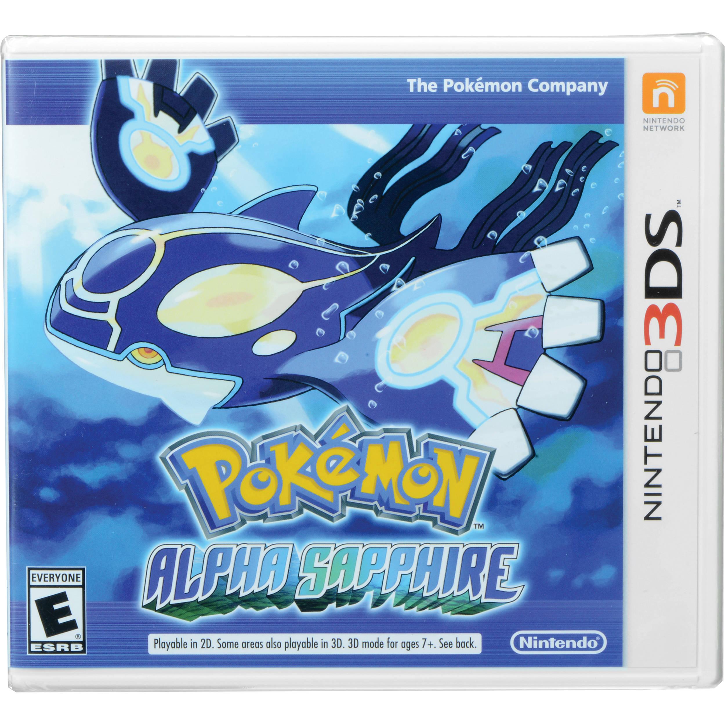 Nintendo Pok\u00e9mon Alpha Sapphire Nintendo 3DS CTRPECLE
