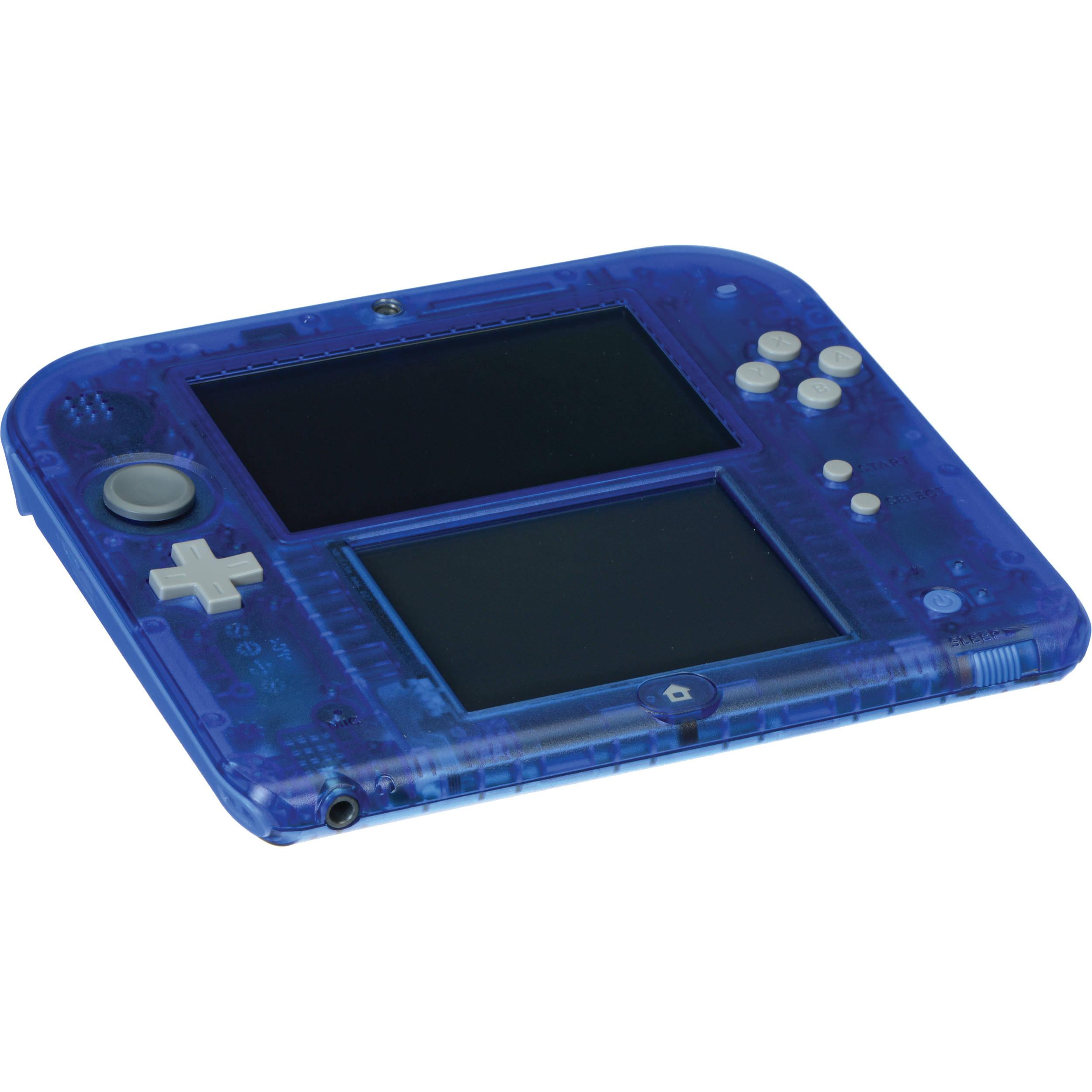 Nintendo 2DS Handheld Gaming System (Crystal Blue ...