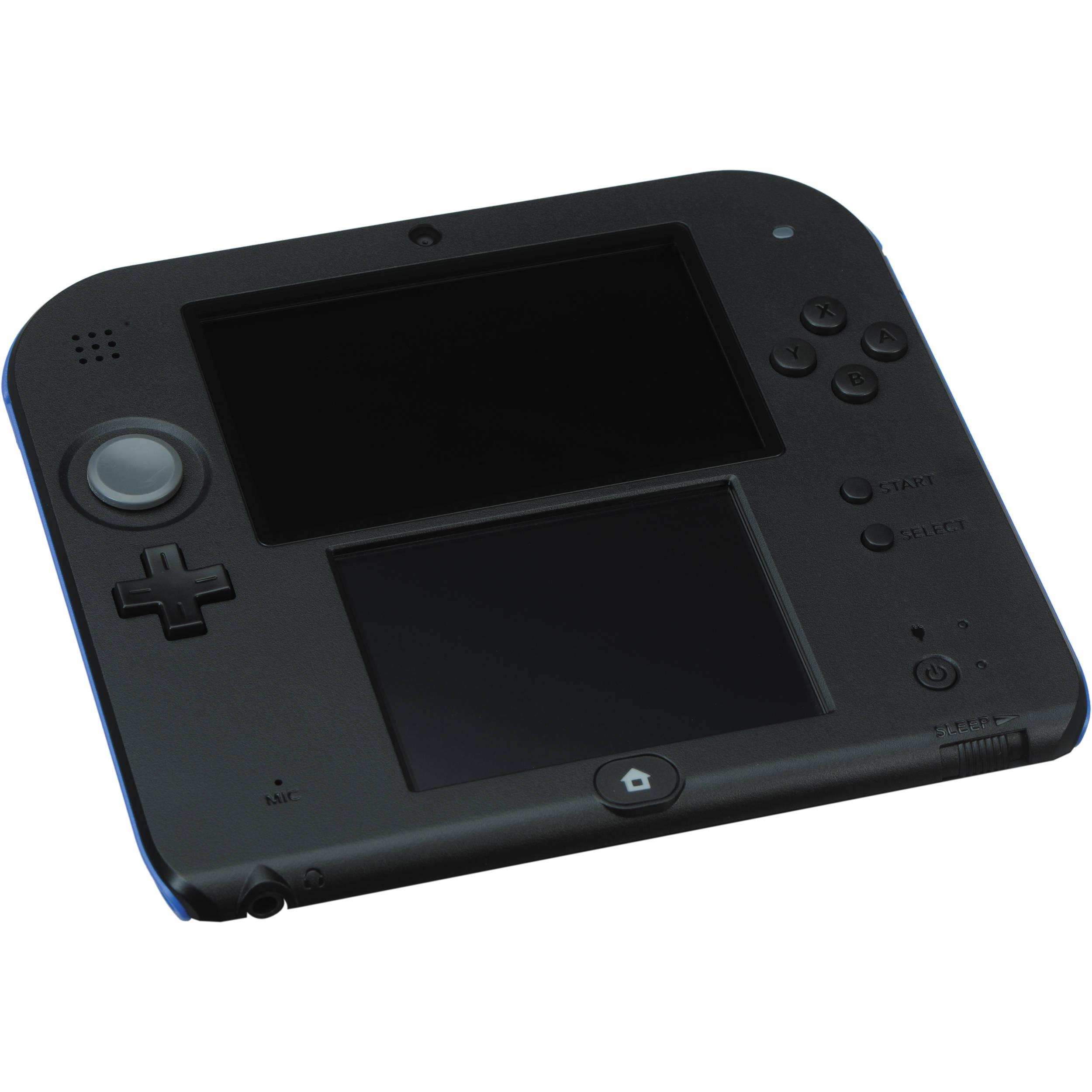 Nintendo 2DS Mario Kart 7 Bundle (Electric Blue) FTRSBM11 B&H